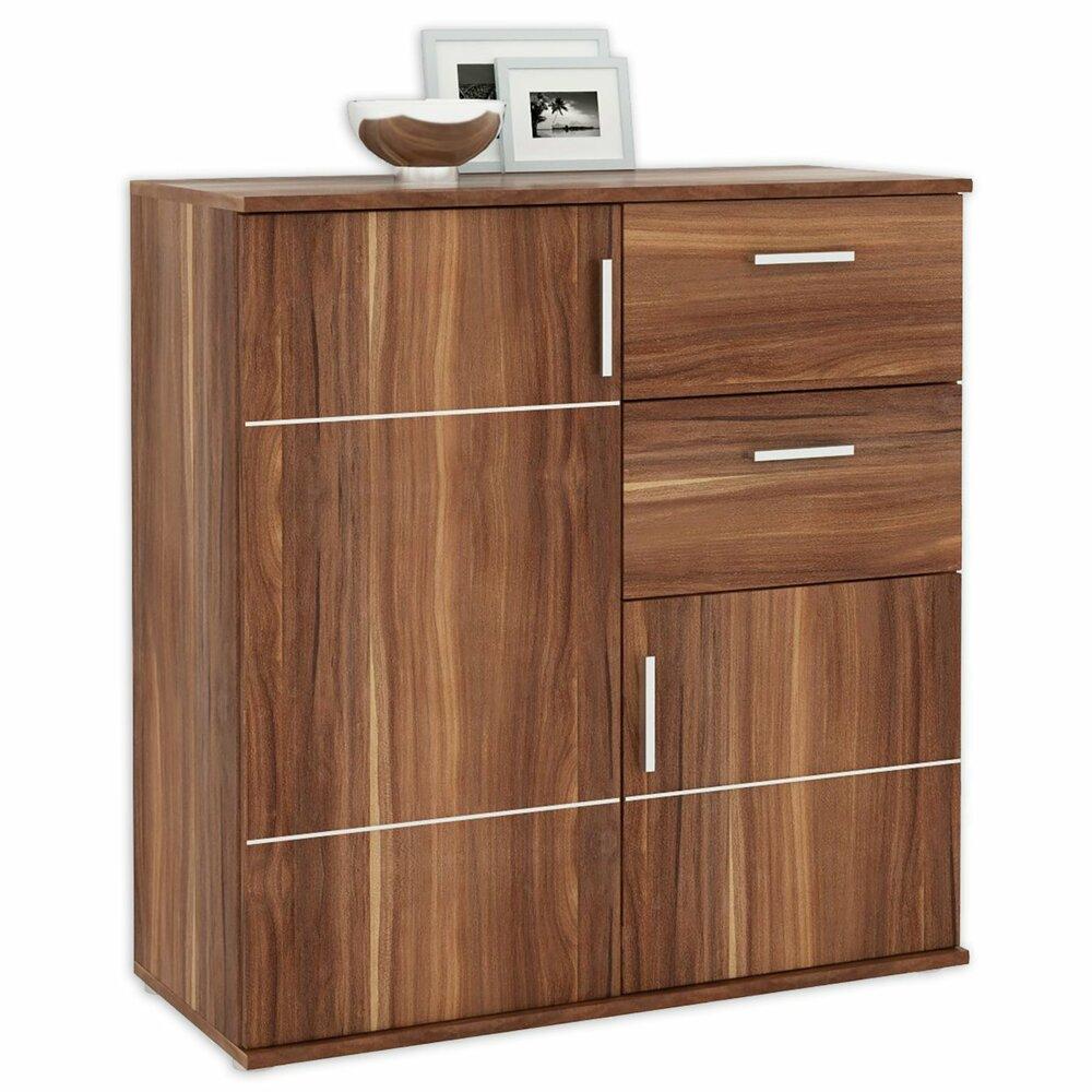 kommode jonas kernnussbaum 88 cm breitangebot bei roller. Black Bedroom Furniture Sets. Home Design Ideas