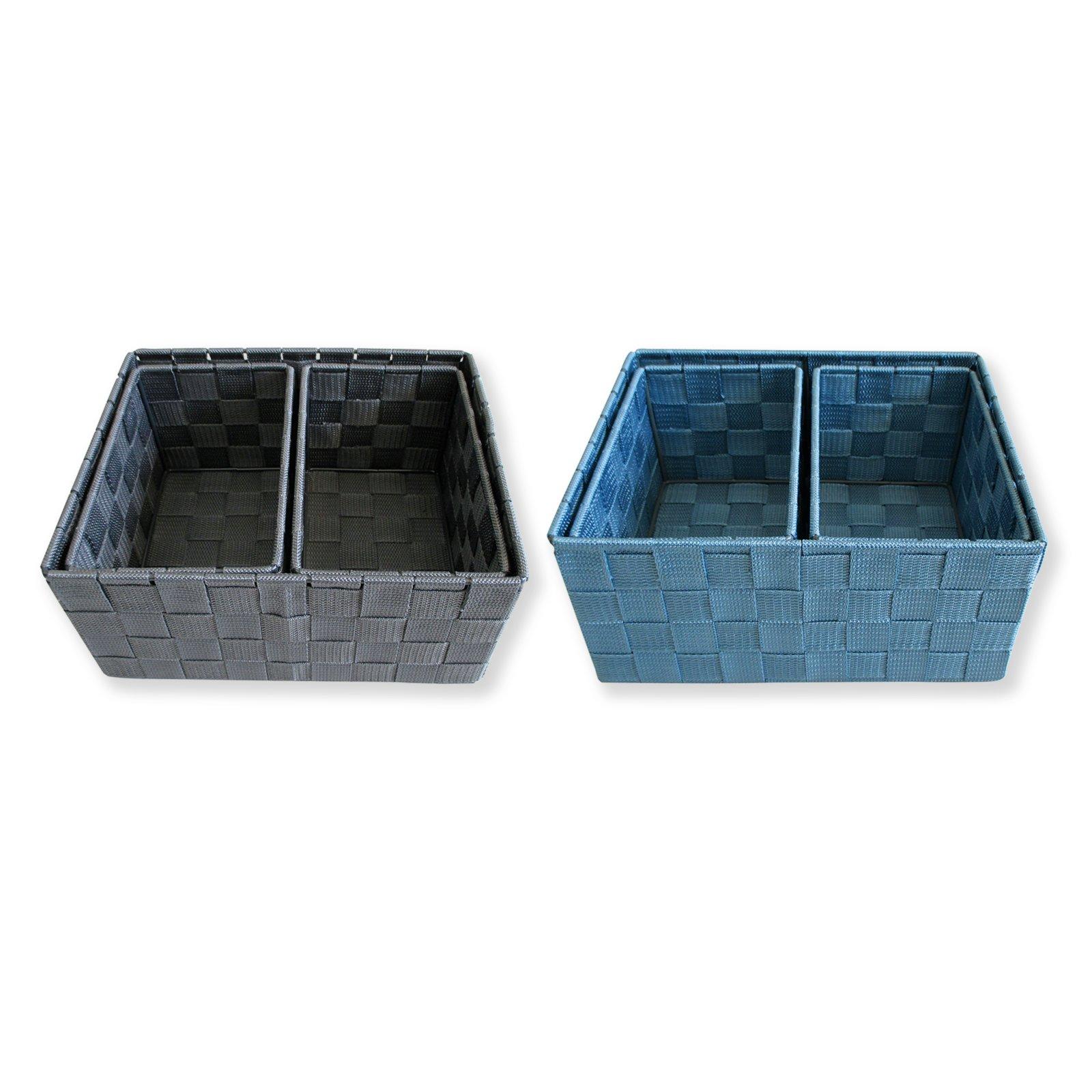 aufbewahrungsk rbe keine farbauswahl 3 teilig. Black Bedroom Furniture Sets. Home Design Ideas