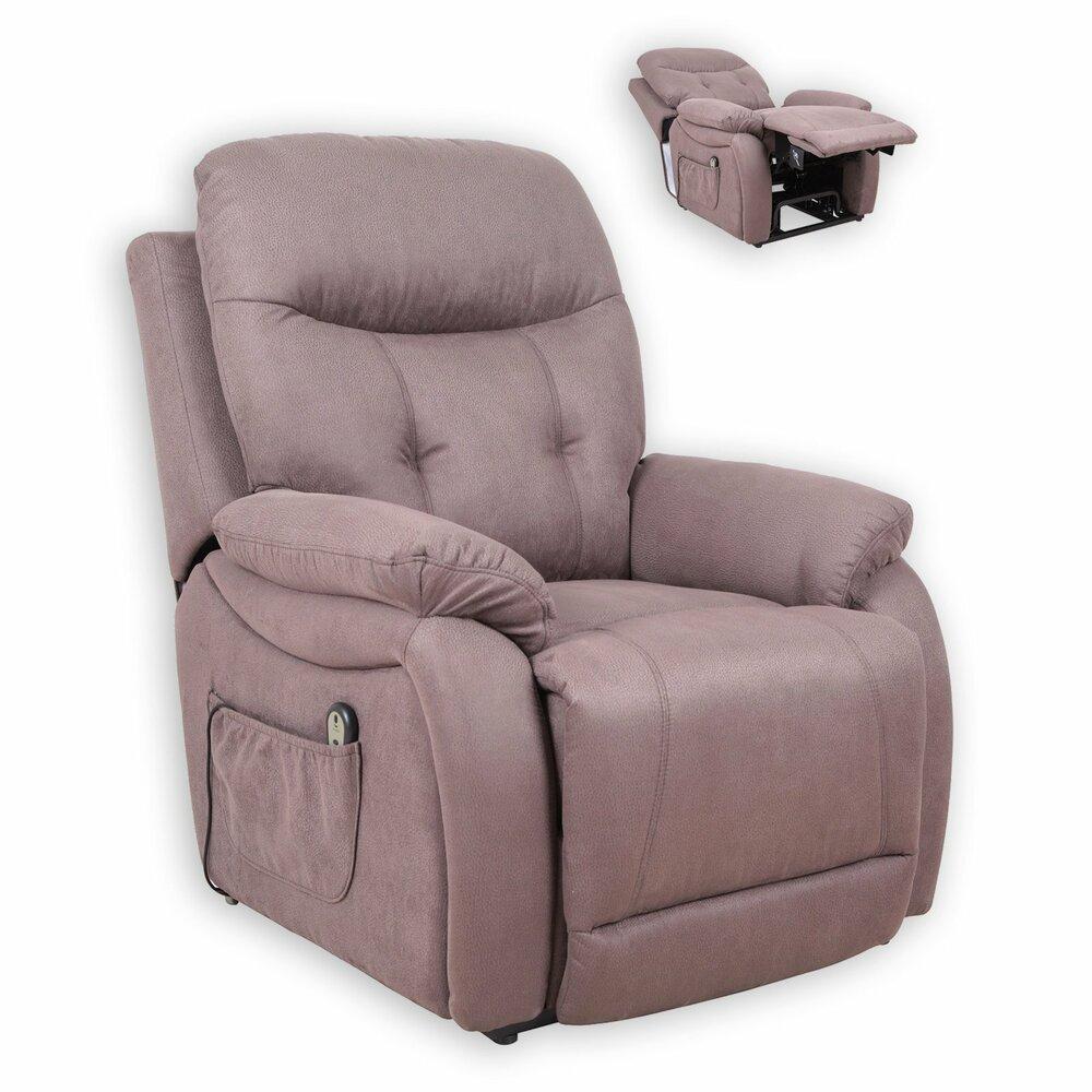tv sessel braun mit aufstehhilfe fernseh. Black Bedroom Furniture Sets. Home Design Ideas