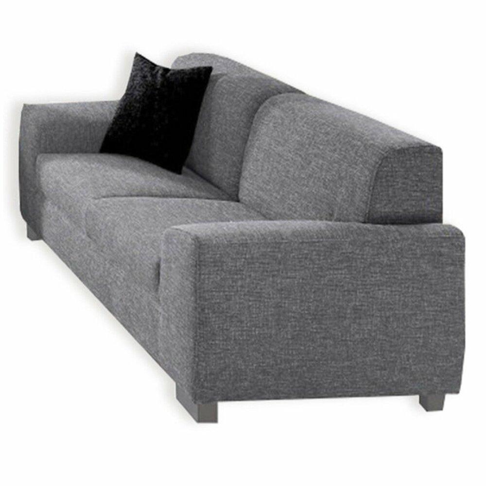 3 sitzer sofa silber mit federkernangebot bei roller. Black Bedroom Furniture Sets. Home Design Ideas