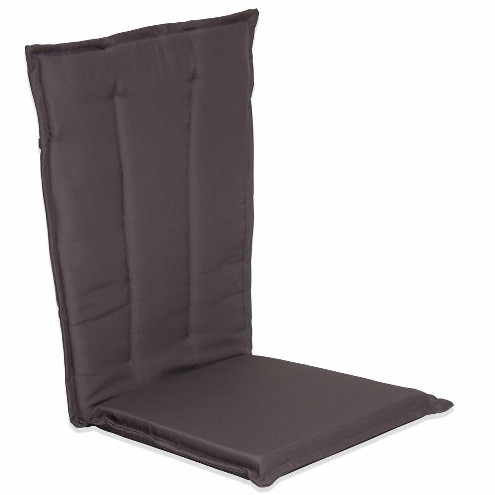 sitzauflage hochlehner grau 50x117 cm auflagen. Black Bedroom Furniture Sets. Home Design Ideas