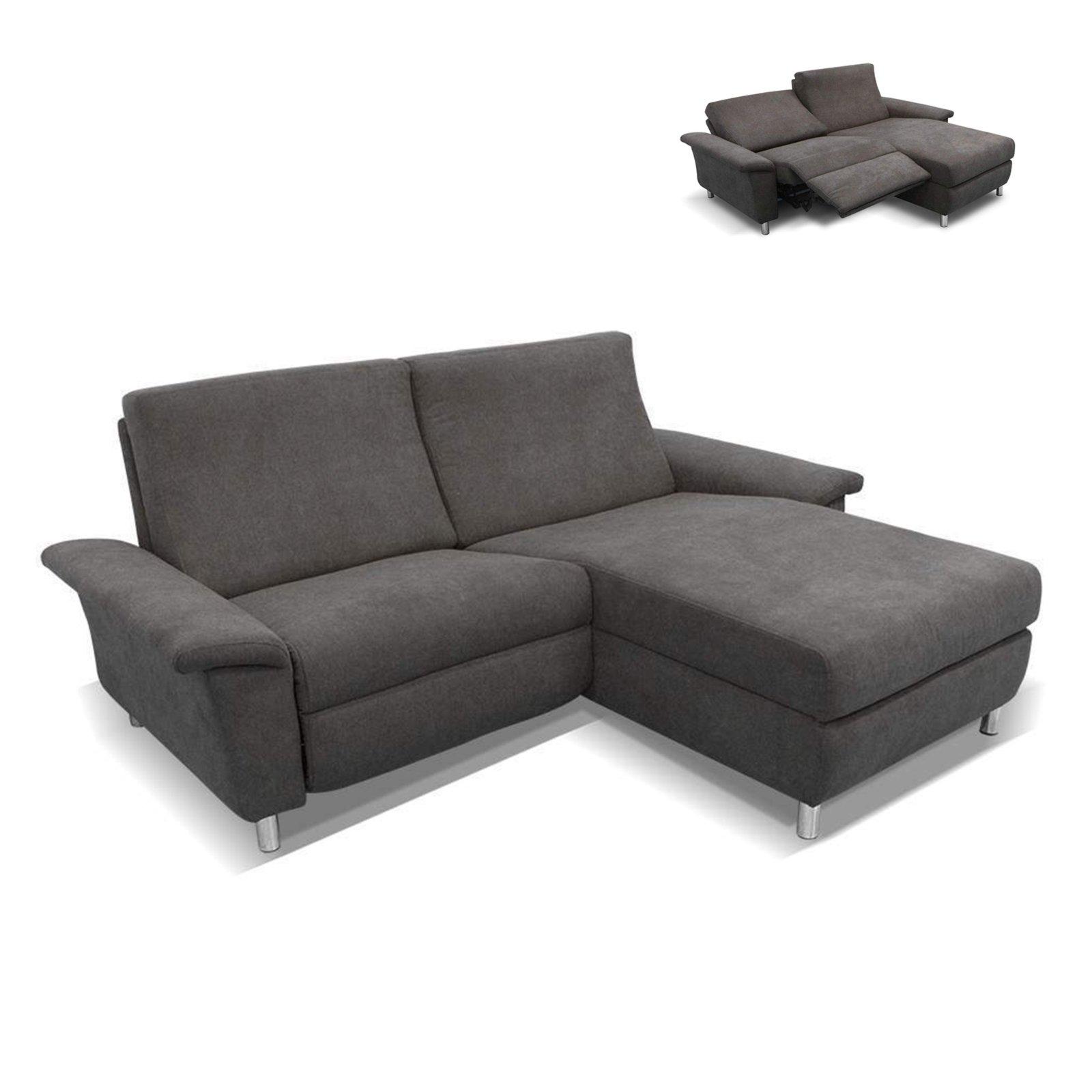ecksofa schlamm recamiere rechts relaxfunktion. Black Bedroom Furniture Sets. Home Design Ideas