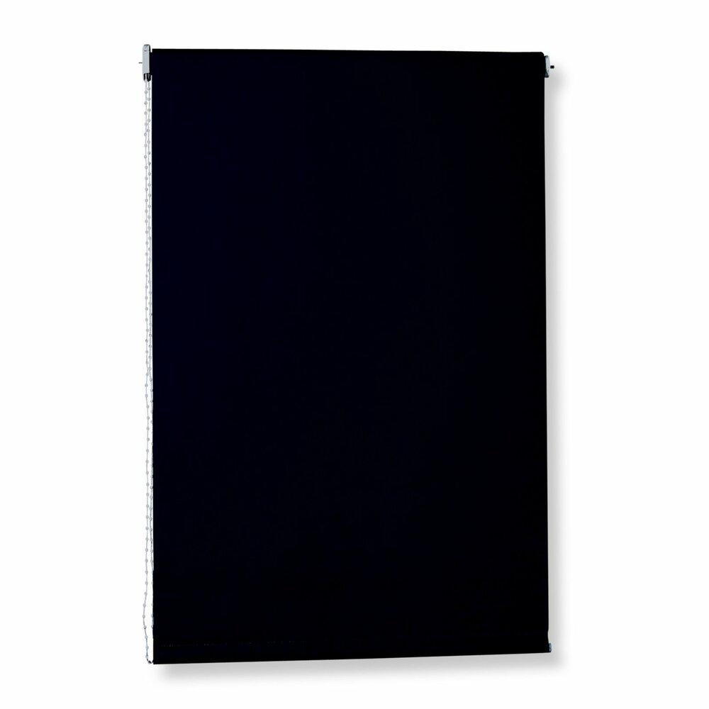 rollo schwarz 100x180 cm sichtschutzrollos rollos. Black Bedroom Furniture Sets. Home Design Ideas