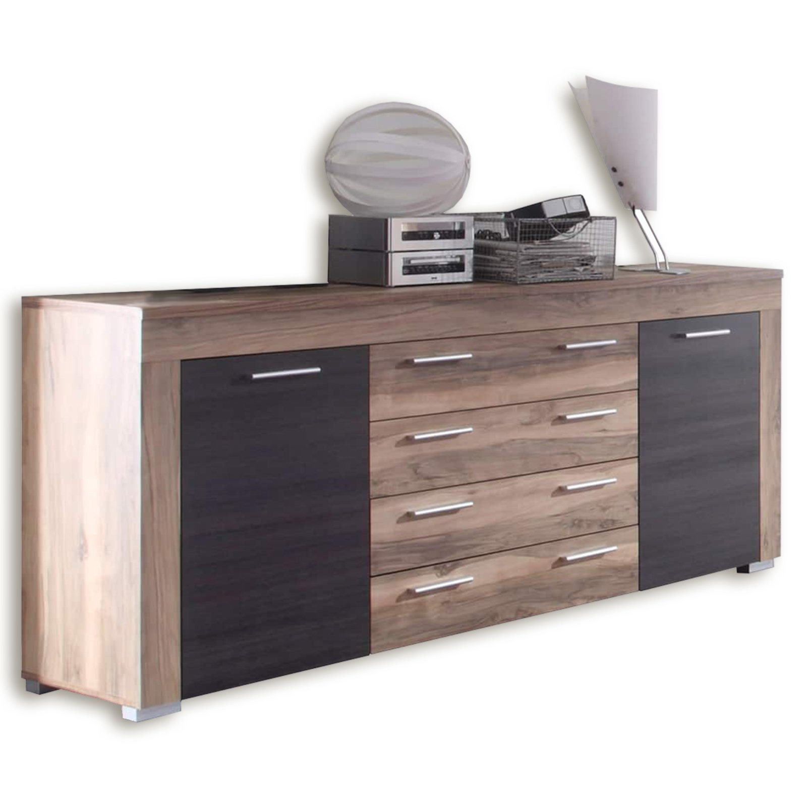 sideboard boom nussbaum touchwood kommoden. Black Bedroom Furniture Sets. Home Design Ideas