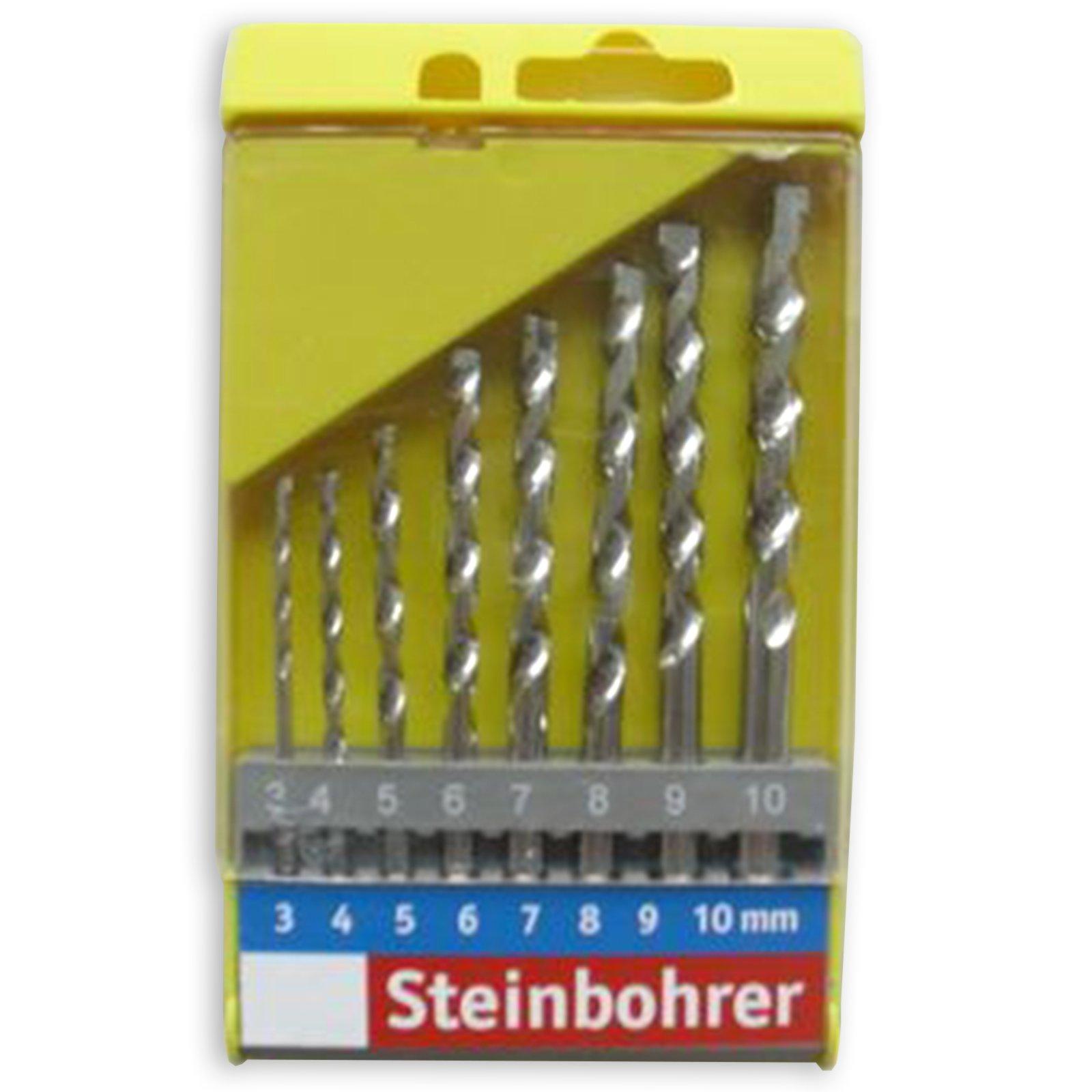 Steinbohrersatz - 8-teilig
