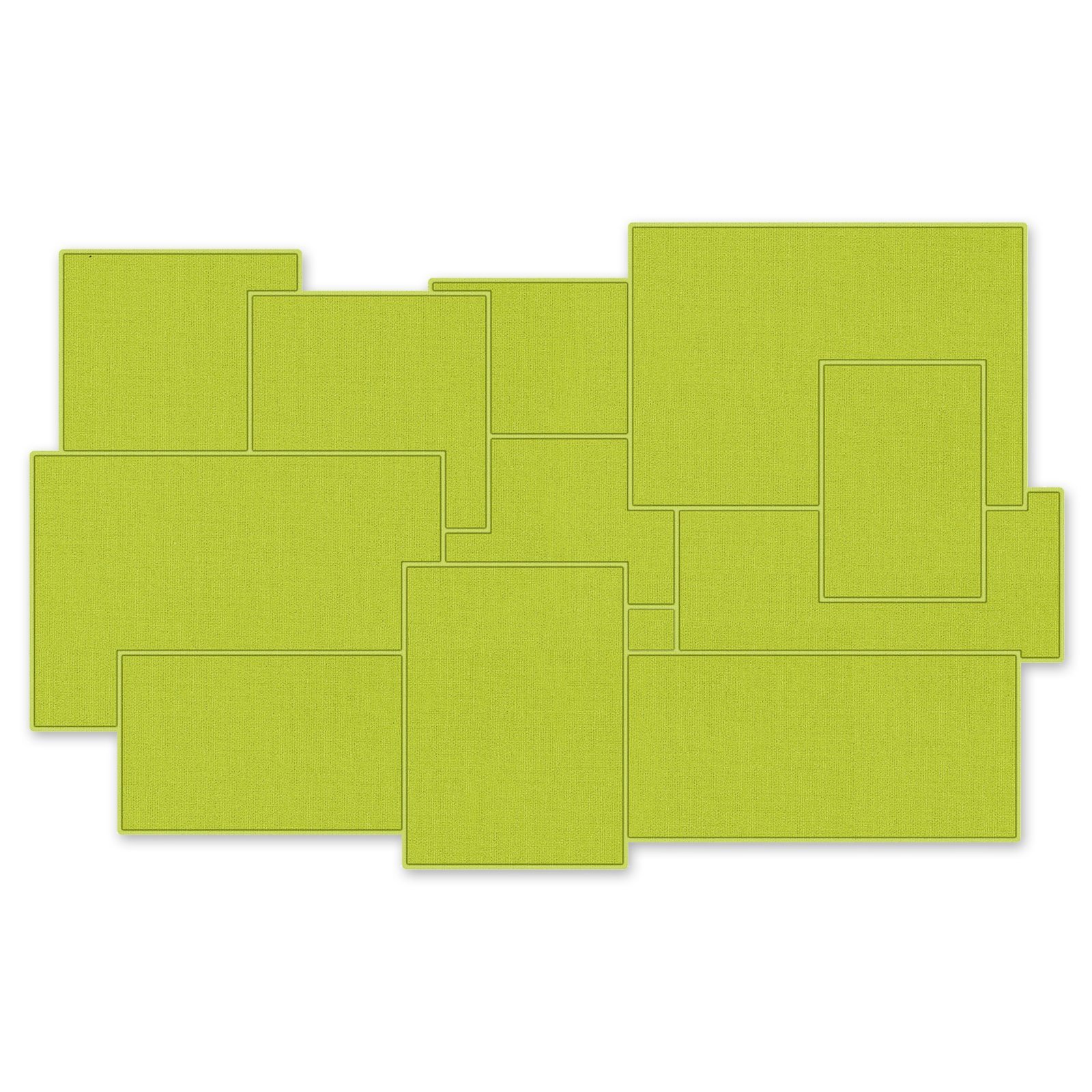 allzweckmatte silverline gr n 80x50 cm badteppiche matten badtextilien bad. Black Bedroom Furniture Sets. Home Design Ideas