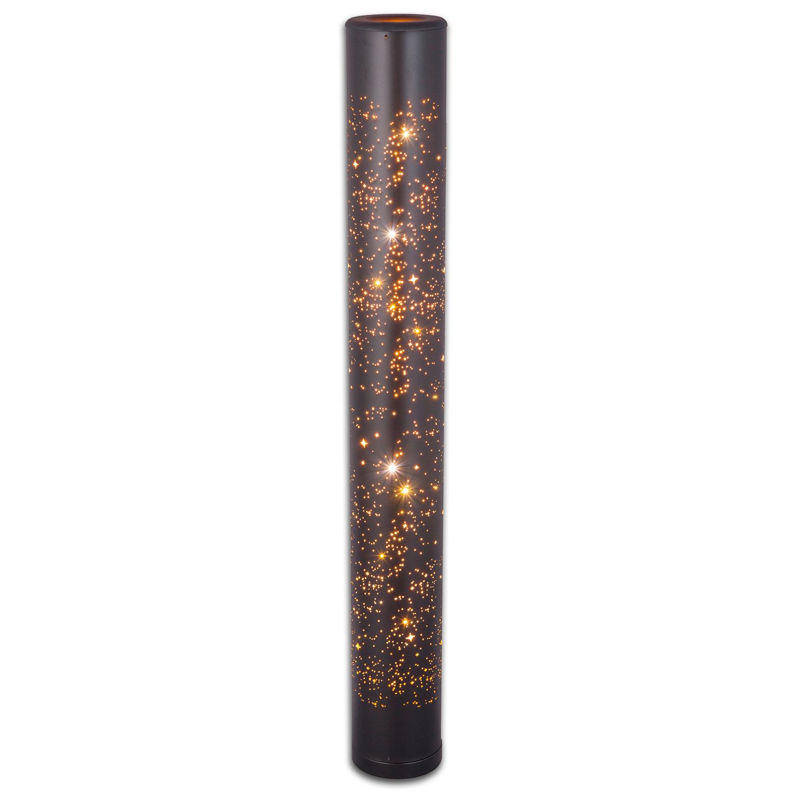 Lampura Led Stehlampe Schwarz Gold Online Bei Roller Kaufen