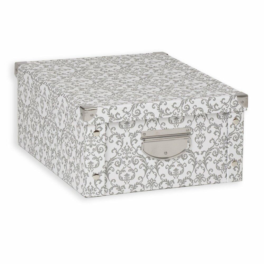 aufbewahrungsbox barock pappe gr e m dekorative boxen k rbe boxen k rbe deko. Black Bedroom Furniture Sets. Home Design Ideas