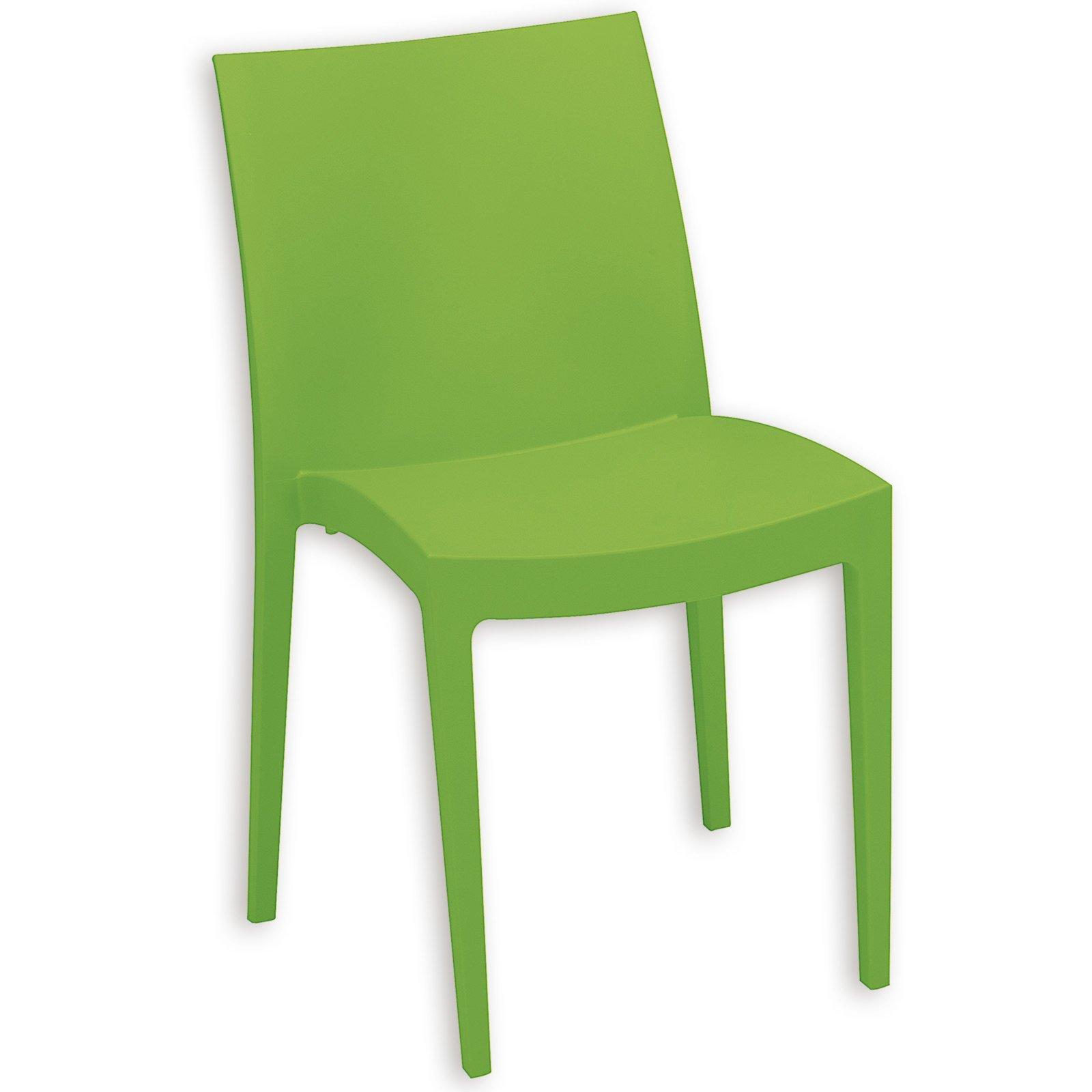 stapelstuhl venice apfelgr n kunststoff stapelst hle st hle st hle hocker m bel. Black Bedroom Furniture Sets. Home Design Ideas