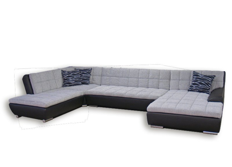 sofa u form xxl wohnlandschaft xxl g nstig mit stabiles. Black Bedroom Furniture Sets. Home Design Ideas
