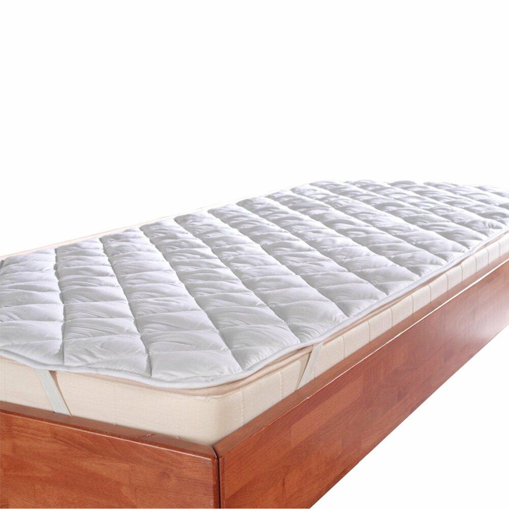 matratzen auflage sanitized wei 180x200 cm schoner matratzen lattenroste. Black Bedroom Furniture Sets. Home Design Ideas