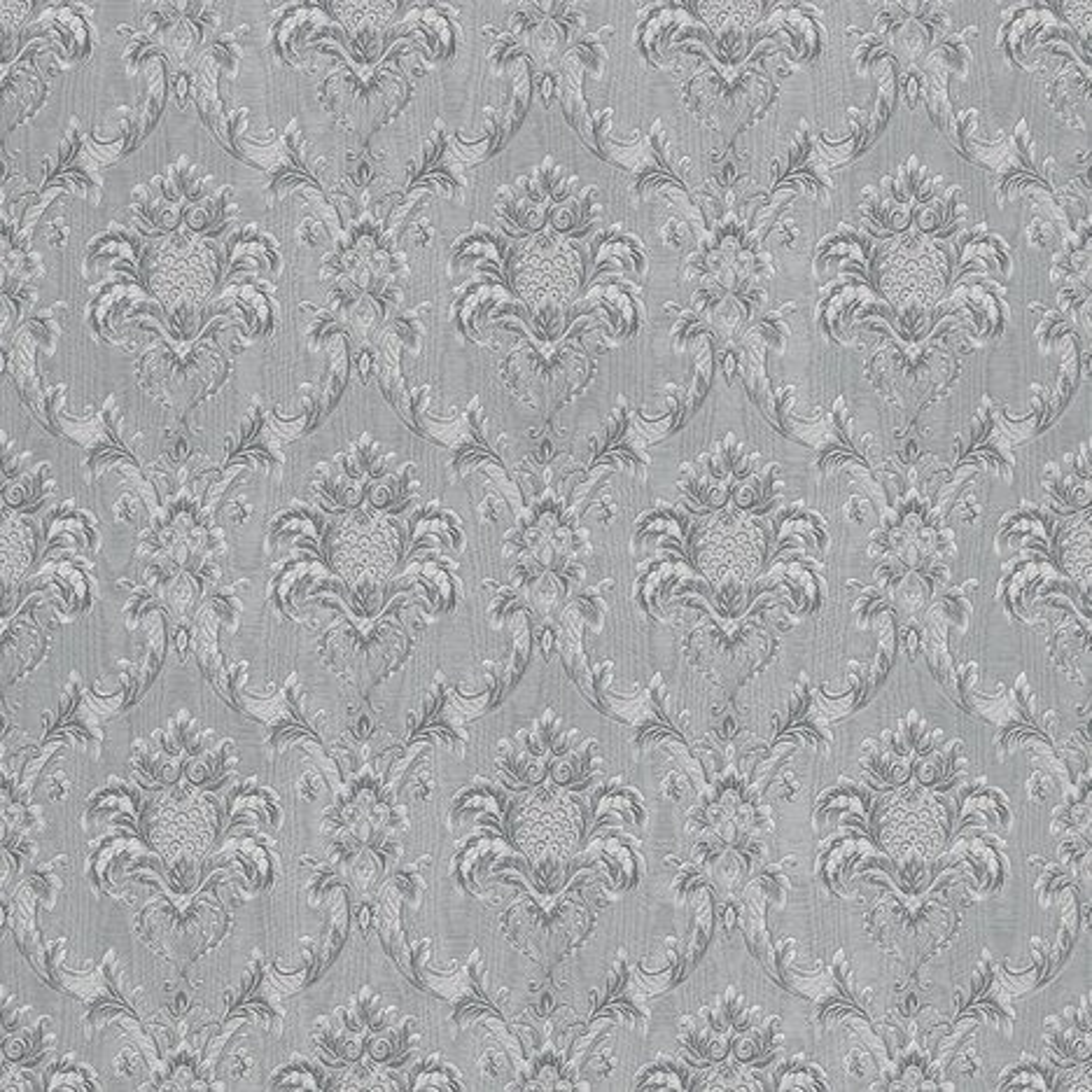 Papiertapete grau silber 10 meter papiertapeten for Tapeten roller