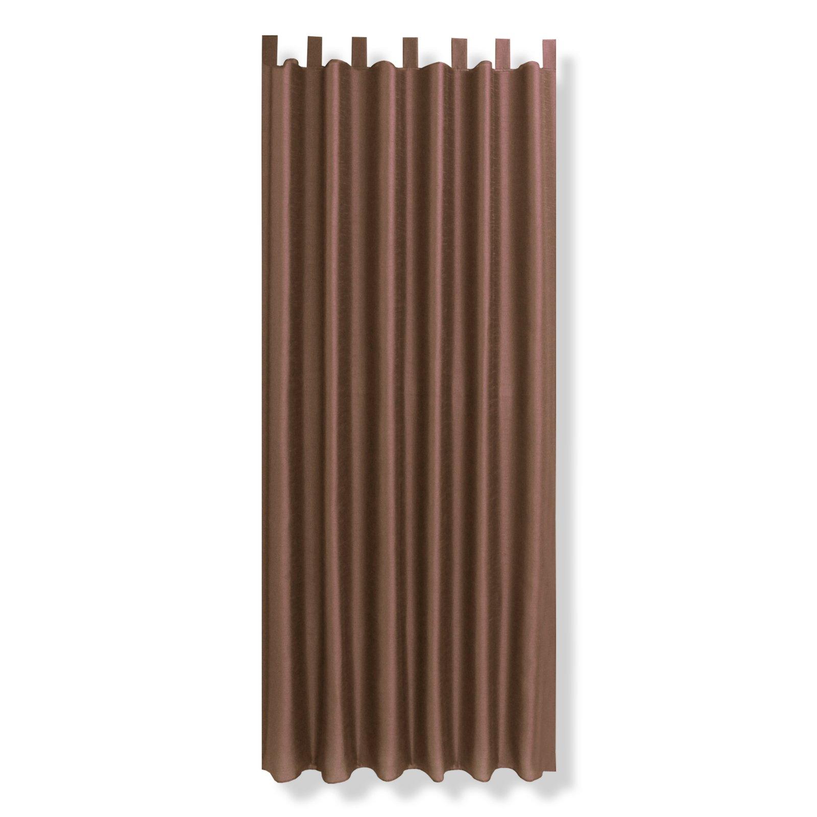 Schlaufenschal TAIFUN - braun - 140x235 cm