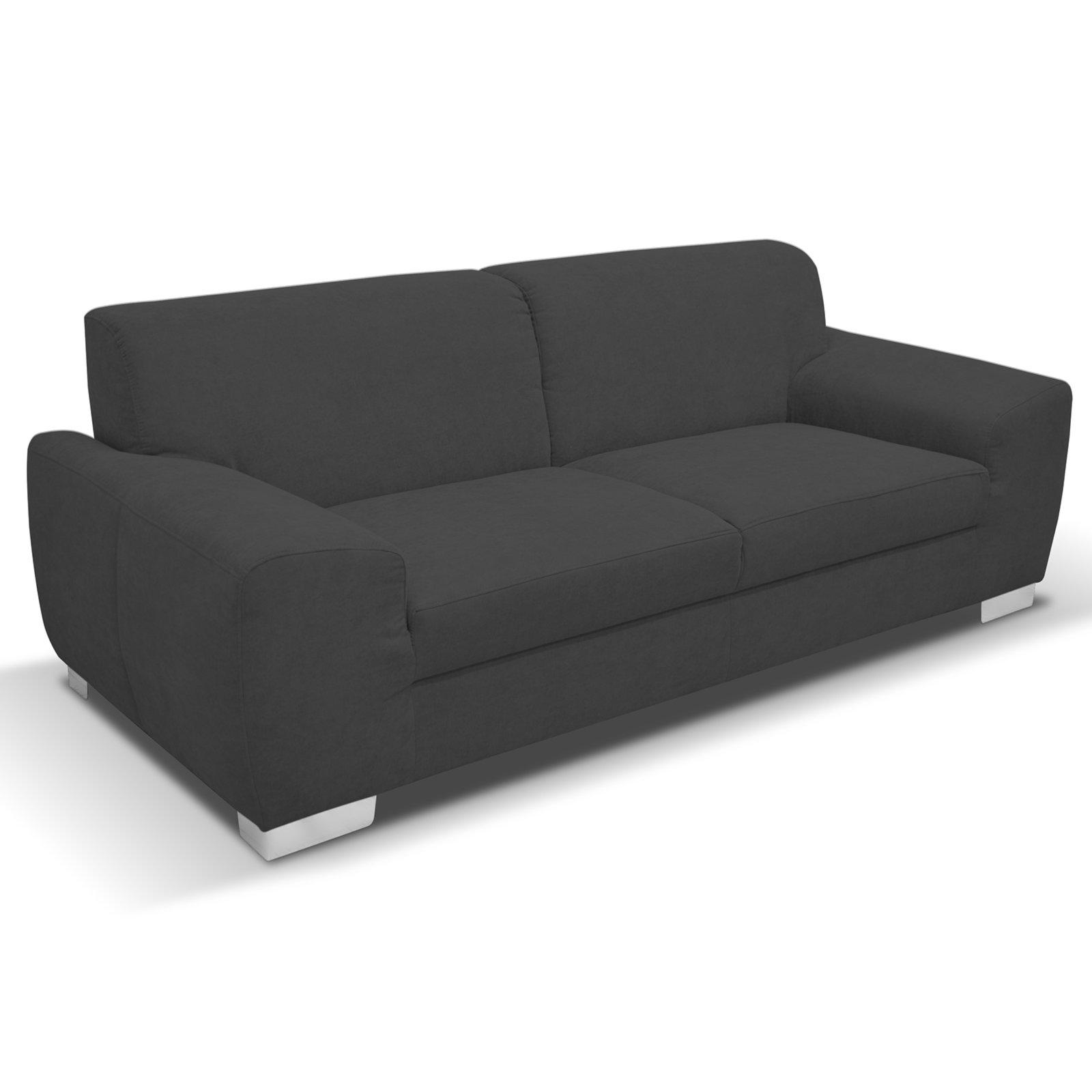 Bemerkenswert Couch Dunkelgrau Sammlung Von Sofa - - 3-sitzer