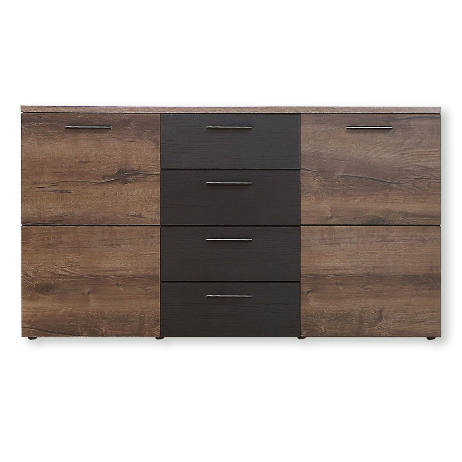 sideboard durango schlammeiche schwarzeiche 150 cm kommoden sideboards m bel roller. Black Bedroom Furniture Sets. Home Design Ideas