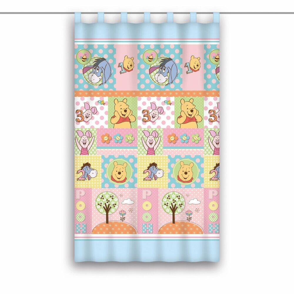 Schlaufenschal winnie pooh blau bunt 140x160 cm kindergardinen gardinen vorh nge - Winnie pooh deko ...