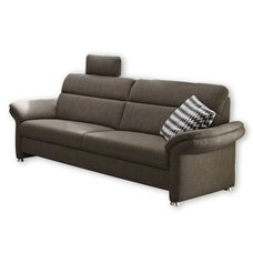 3-Sitzer Sofa - grau - mit Relaxfunktion