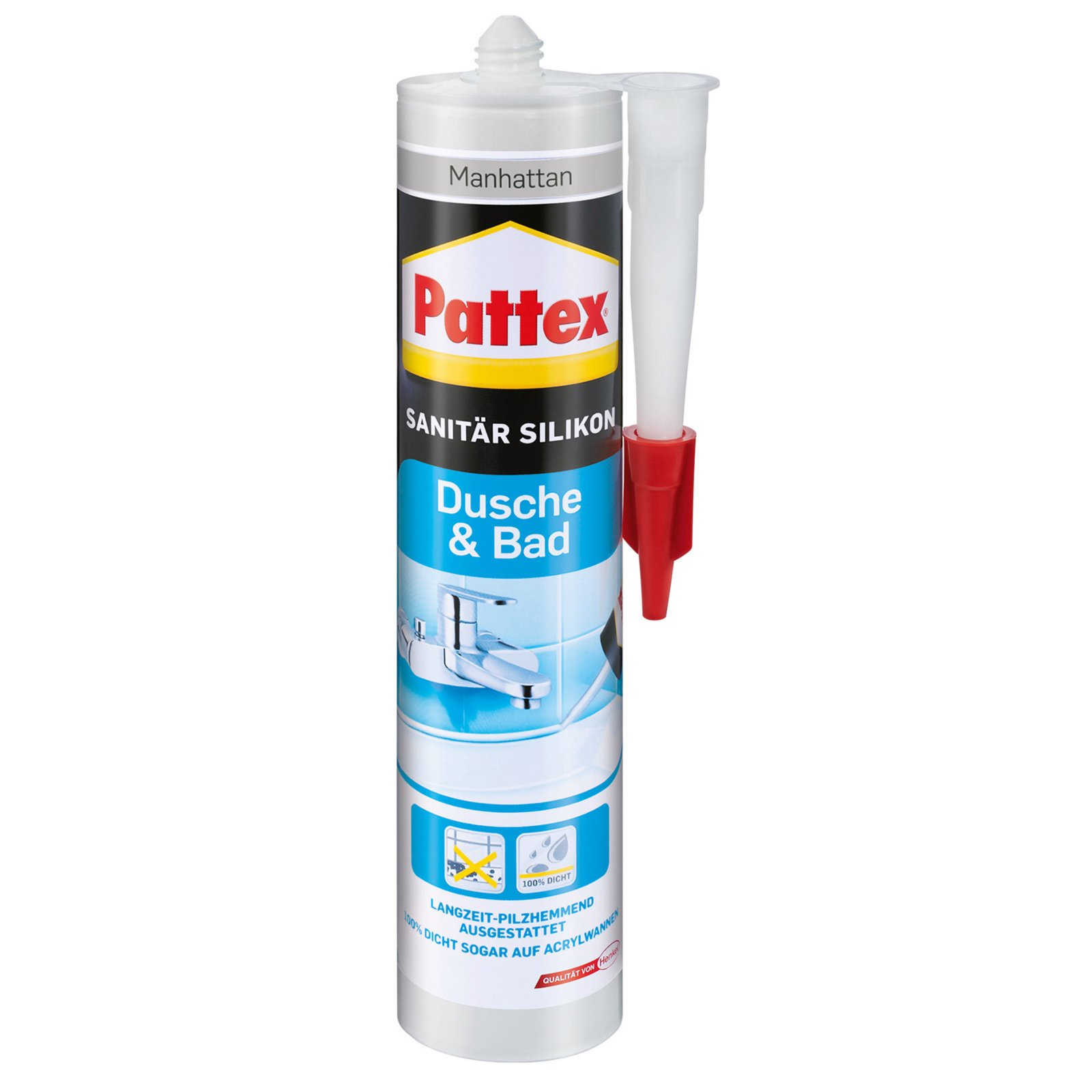 Pattex Sanitär Silikon - manhattan - 310 g