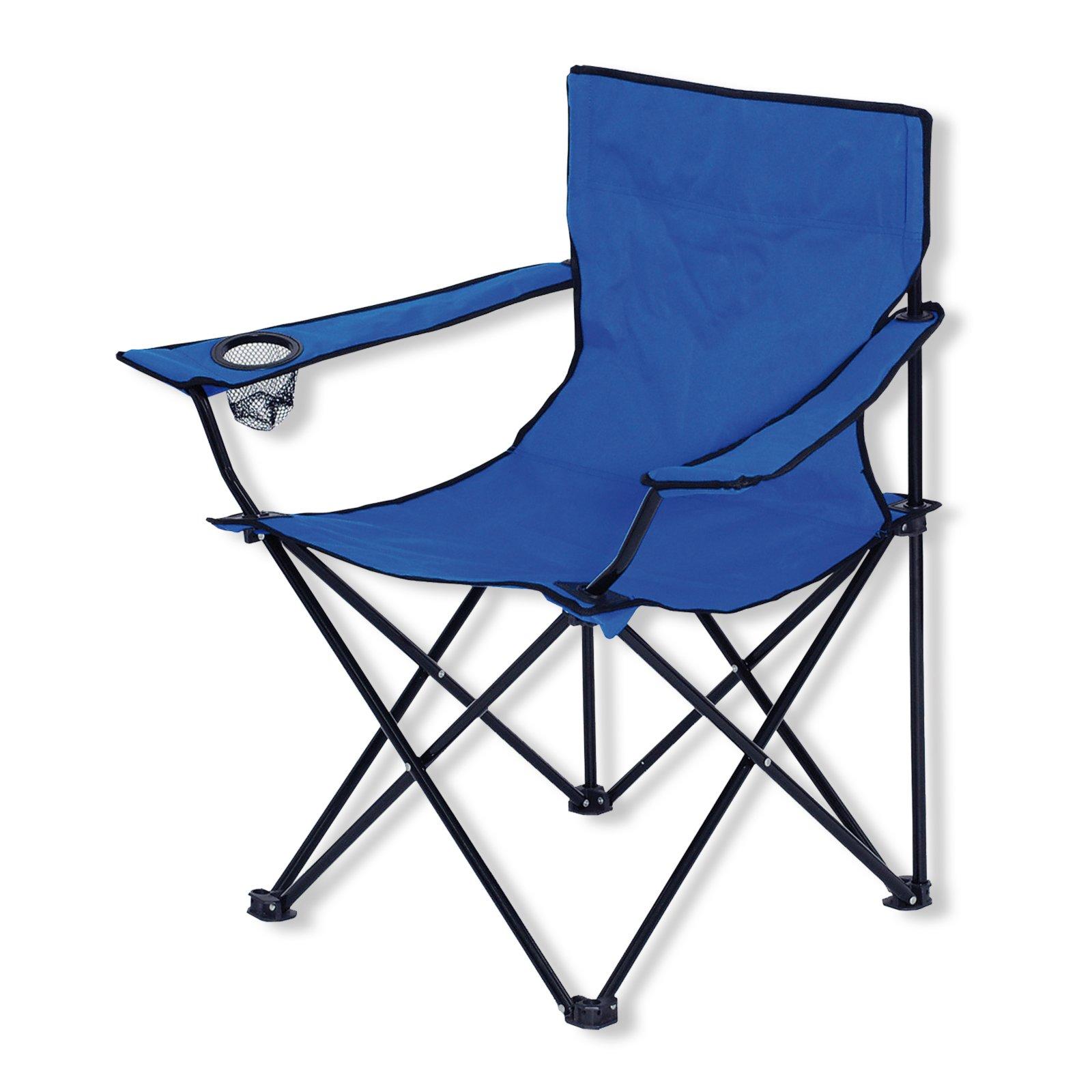 campingstuhl blau faltbar mit getr nkehalter. Black Bedroom Furniture Sets. Home Design Ideas