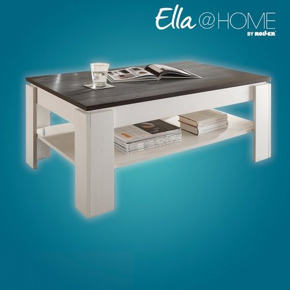 couchtisch montreal pinie wei wenge 110 cm ella home wohnbereiche roller m belhaus. Black Bedroom Furniture Sets. Home Design Ideas