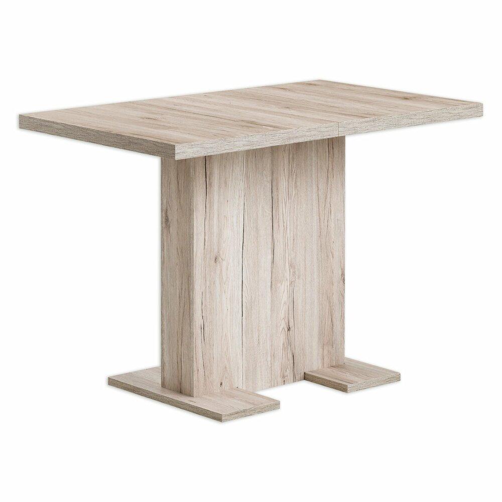 esstisch britt sandeiche ausziehbar esstische sitzen essen esszimmer wohnbereiche. Black Bedroom Furniture Sets. Home Design Ideas
