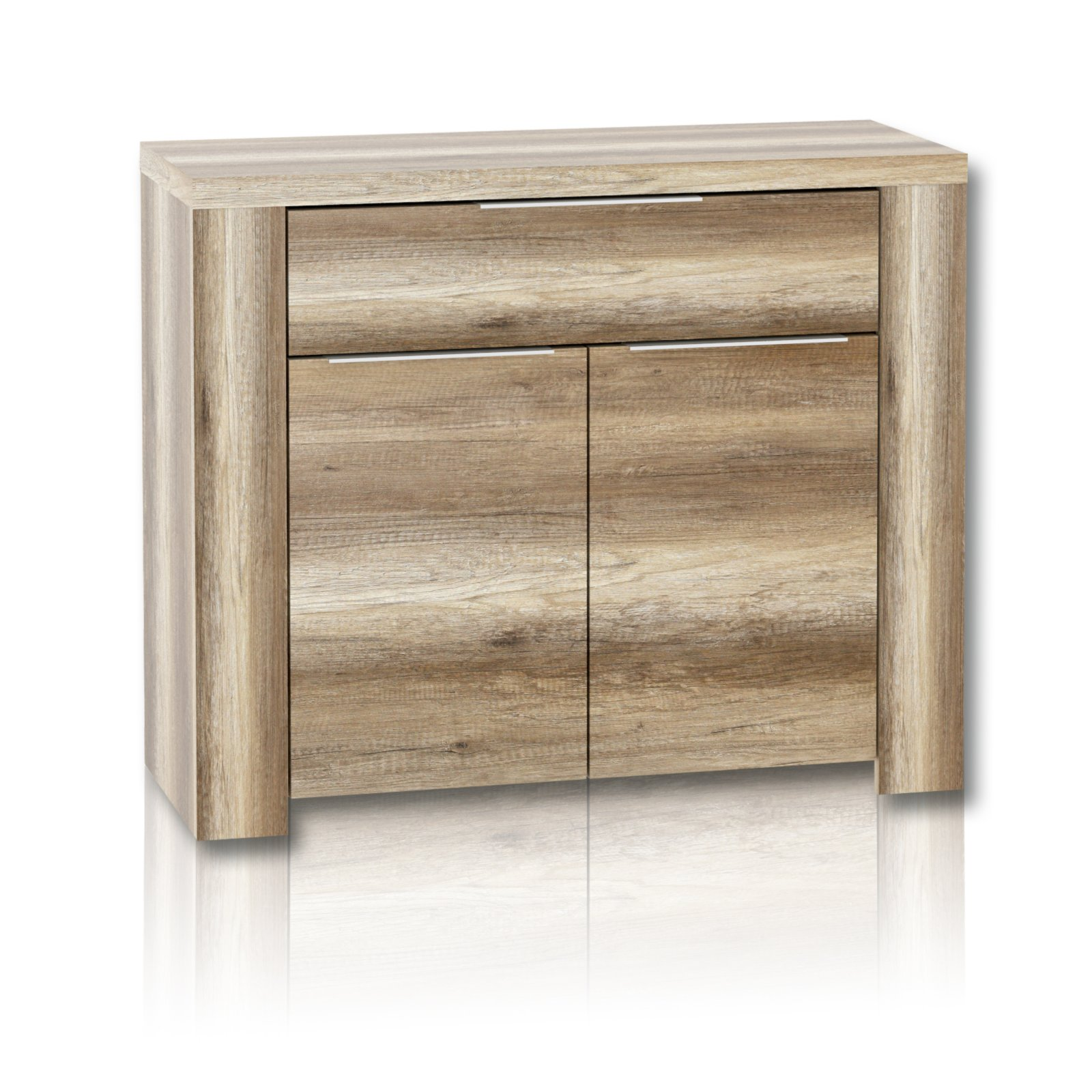 roller sideboard calpe eiche antik 104 cm breite ebay. Black Bedroom Furniture Sets. Home Design Ideas