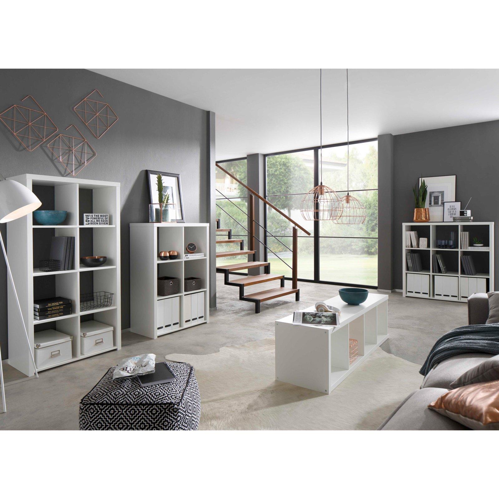 Regal MARTA - weiß - 3x2 Fächer | eBay