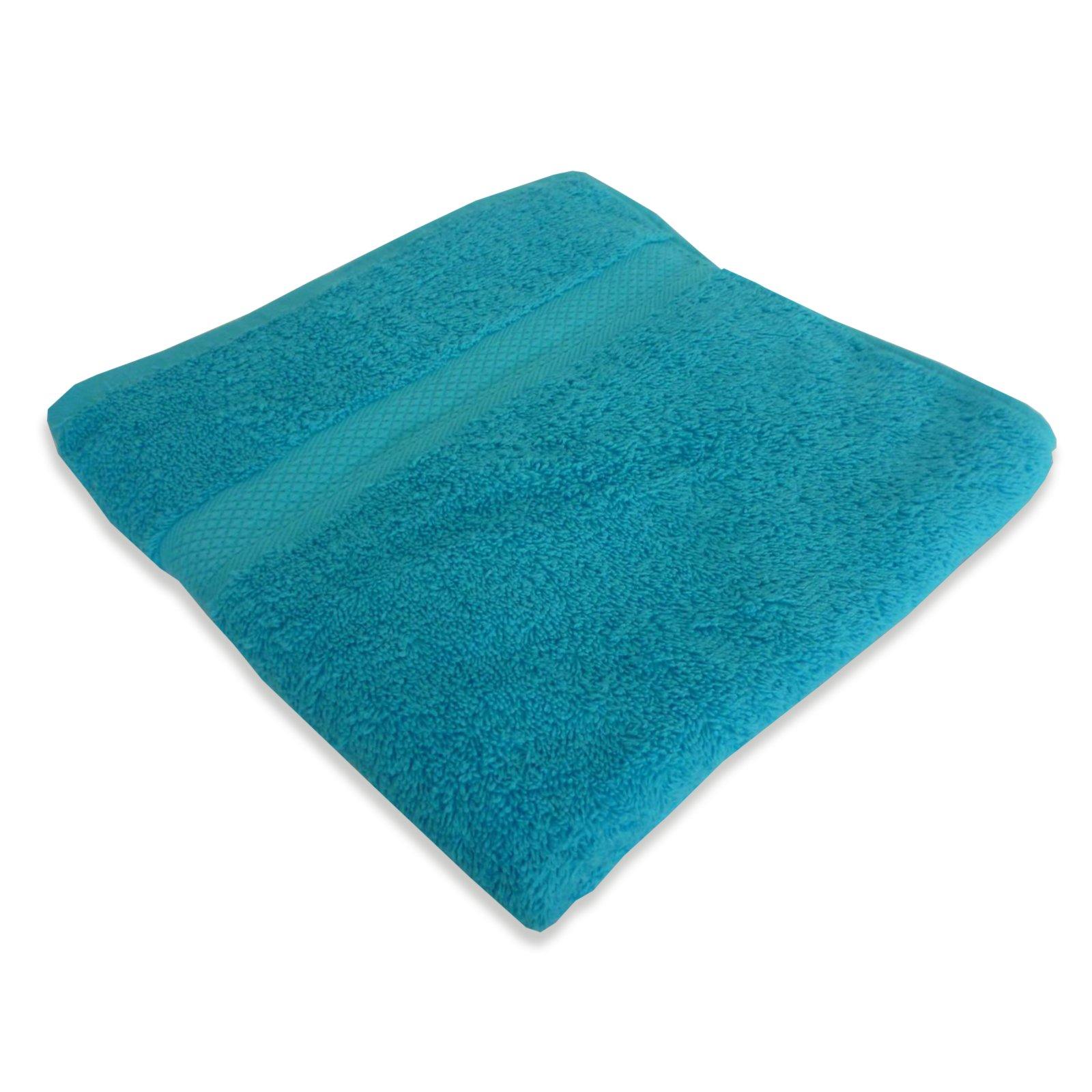handtuch premium t rkis 50x100 cm handt cher badtextilien bad accessoires deko. Black Bedroom Furniture Sets. Home Design Ideas