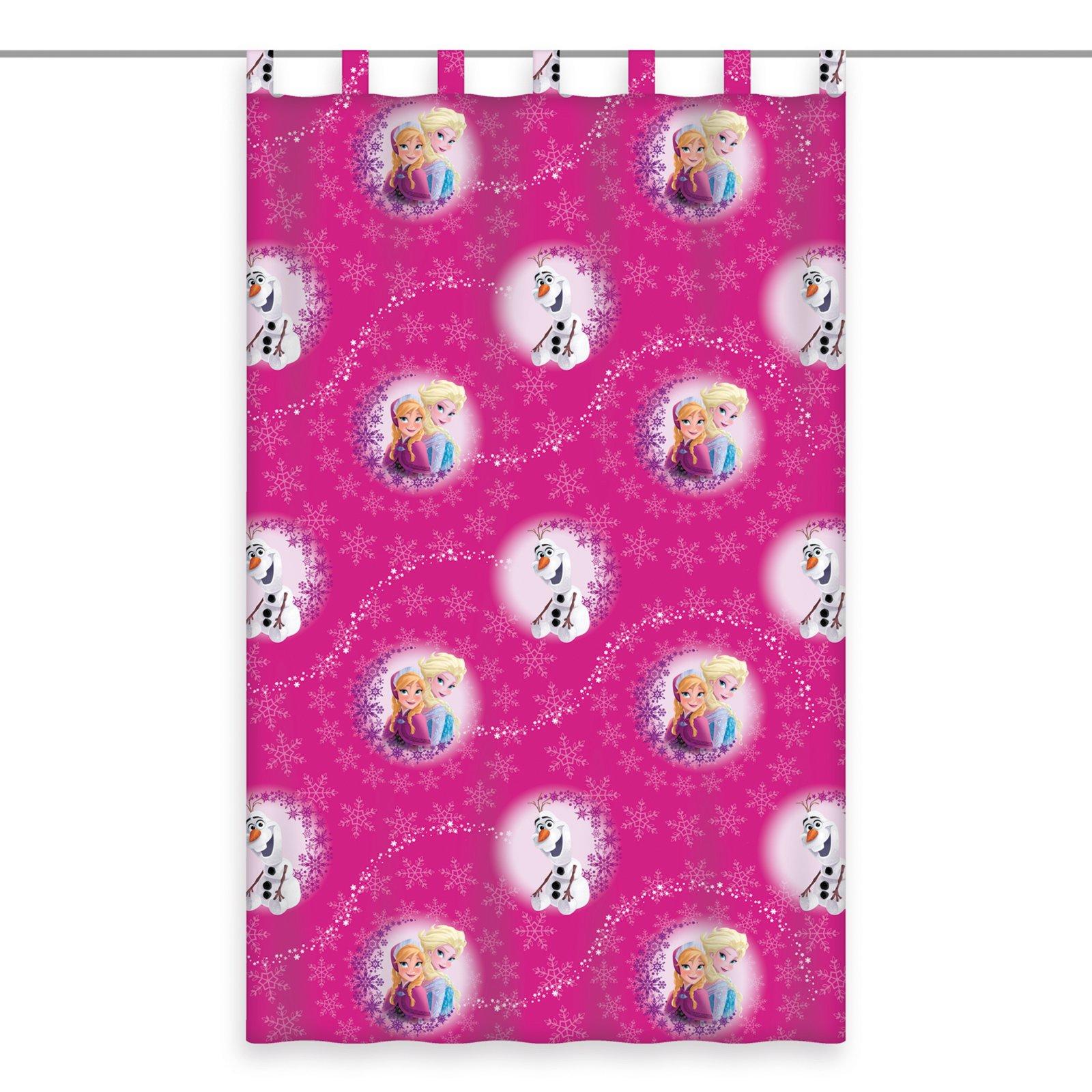 Roller schlaufenschal eisk nigin pink 140x160 cm - Kinderzimmer eiskonigin ...