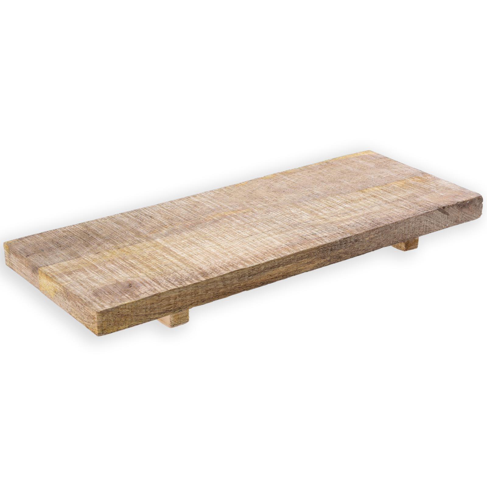 Deko-Tablett - Holz - 15,5x40,5 cm