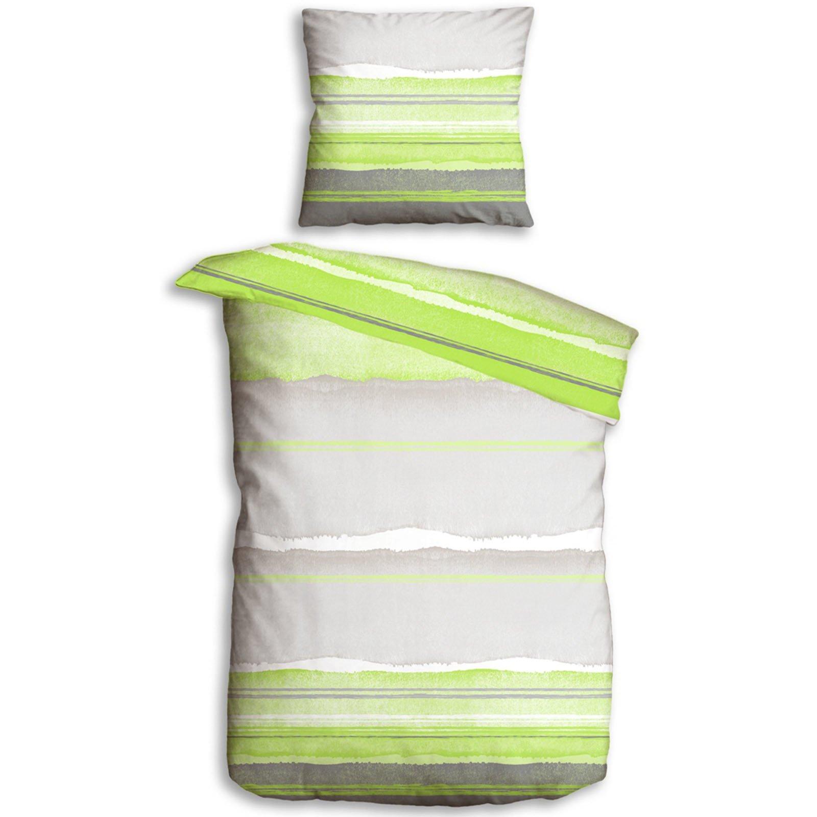 microfaser bettw sche softy capri gr n 135x200 cm bettw sche bettw sche bettlaken. Black Bedroom Furniture Sets. Home Design Ideas