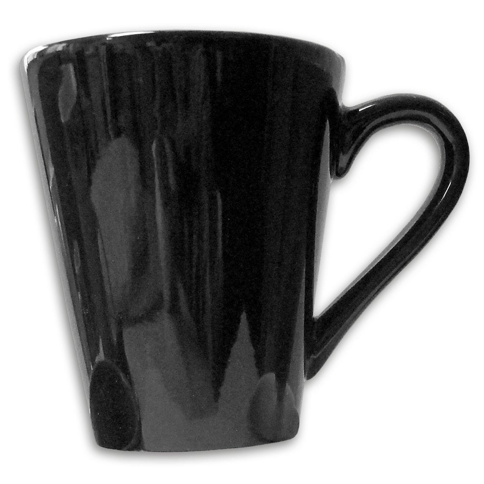Tasse - schwarz - Keramik - 280 ml