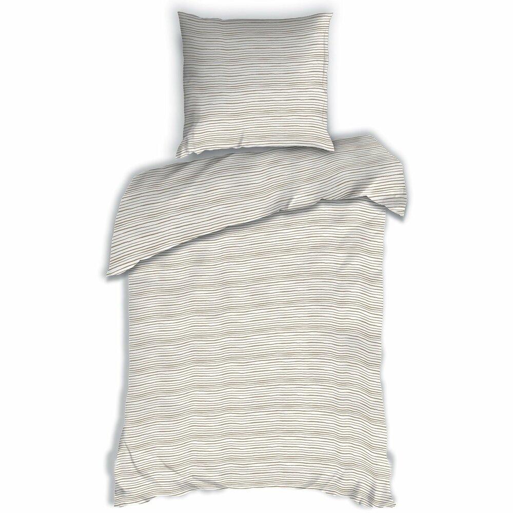 renforce bettw sche atelier design beige 135x200 cm bettw sche bettw sche bettlaken. Black Bedroom Furniture Sets. Home Design Ideas