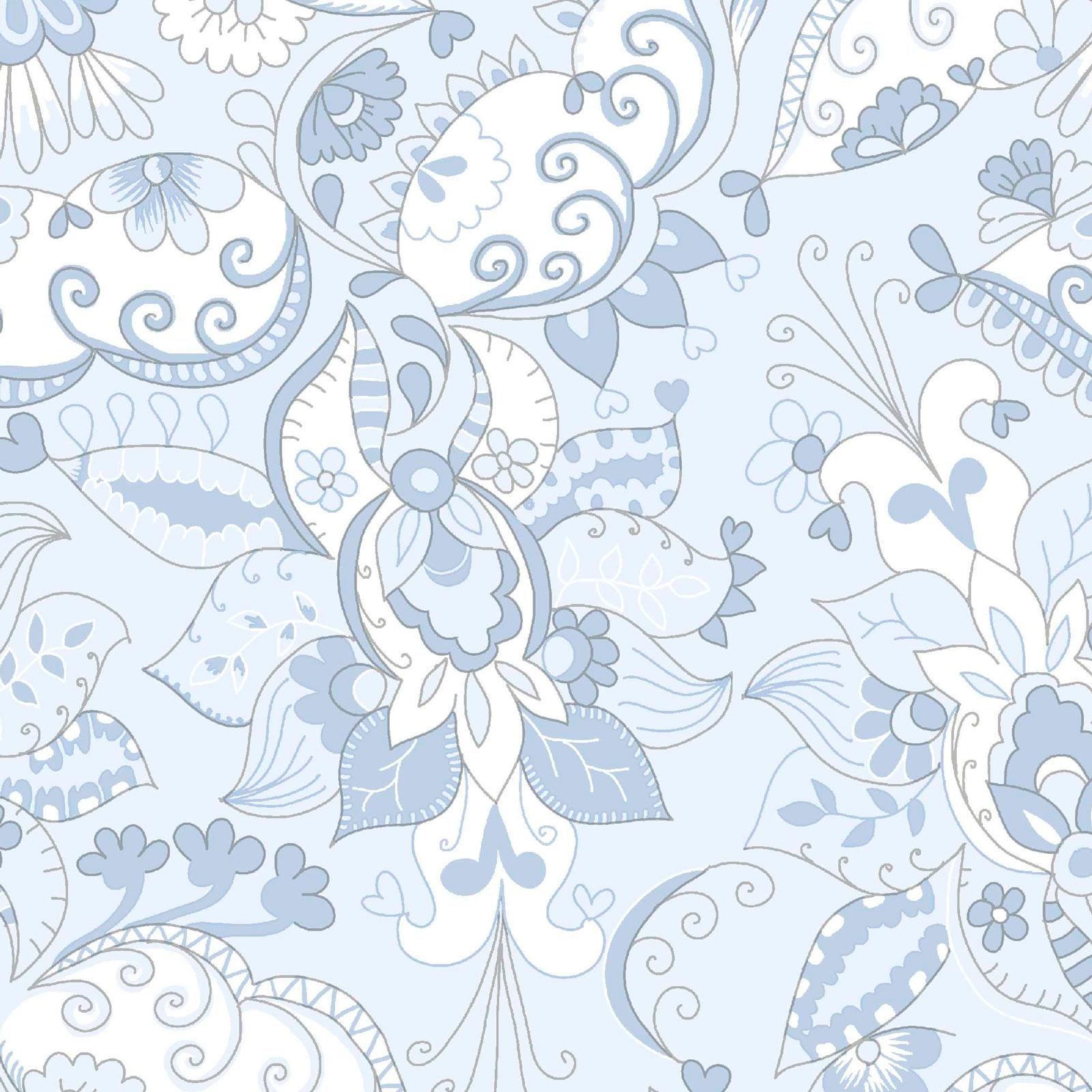Jersey Stoff Blau Weiss 160 Cm Breit