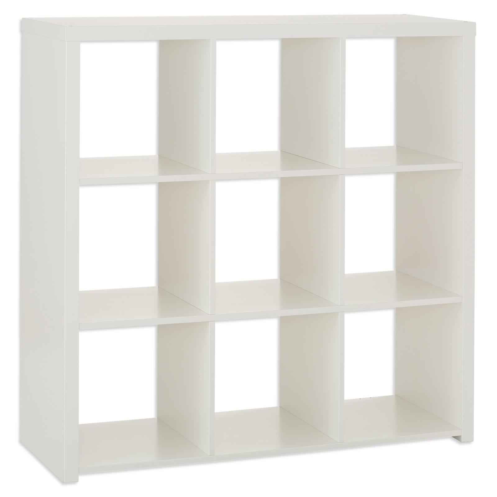 regal marta wei 3x3 f cher regalserie marta regale m bel roller m belhaus. Black Bedroom Furniture Sets. Home Design Ideas