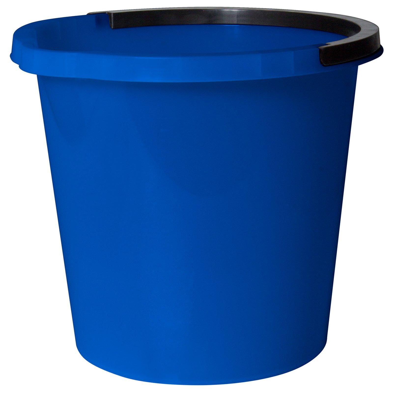 eimer mit ausgusslippe blau 10 liter mop bodenwischer reinigen hauswirtschaft keller. Black Bedroom Furniture Sets. Home Design Ideas