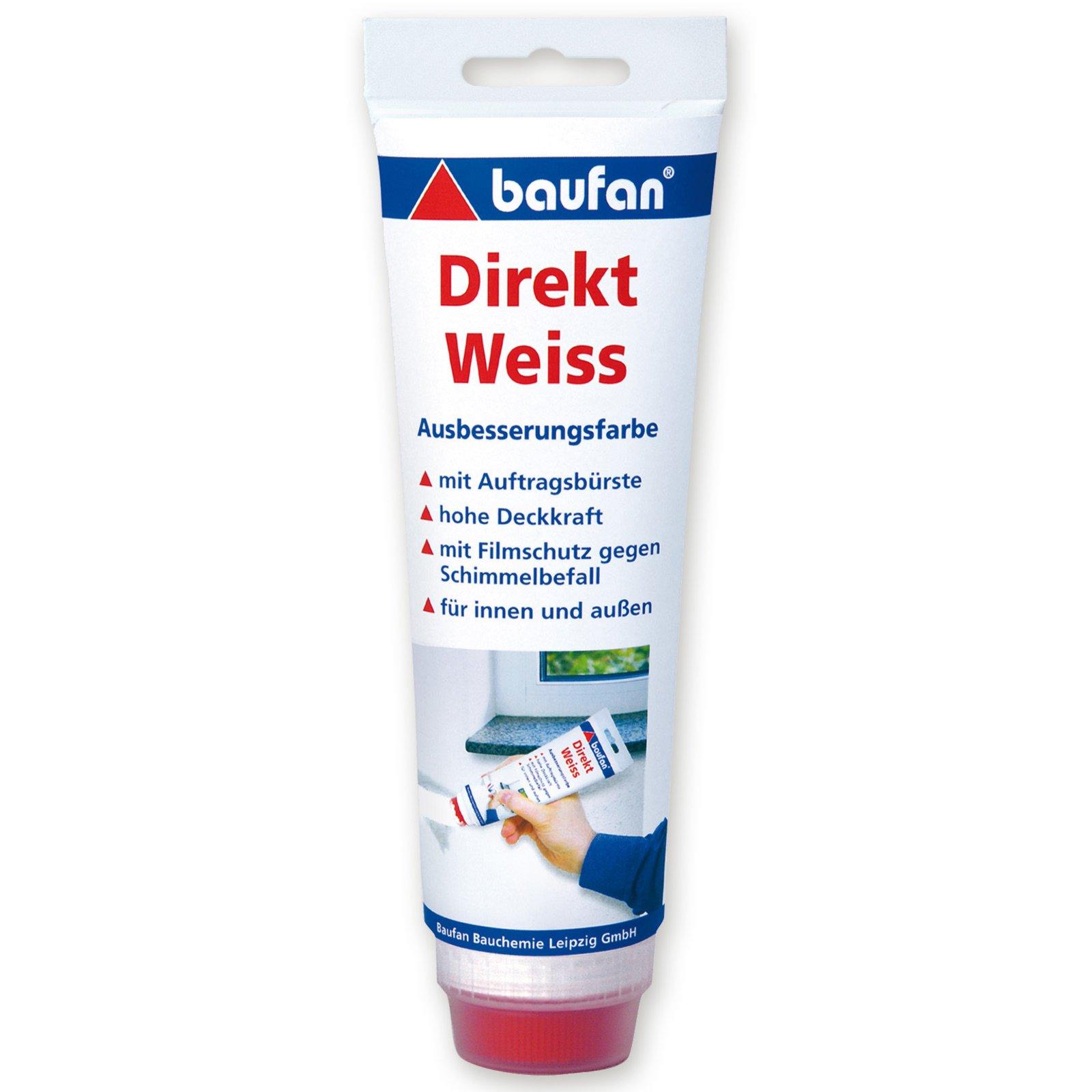 Direkt-Weiss - Ausbesserungsfarbe - 250 ml