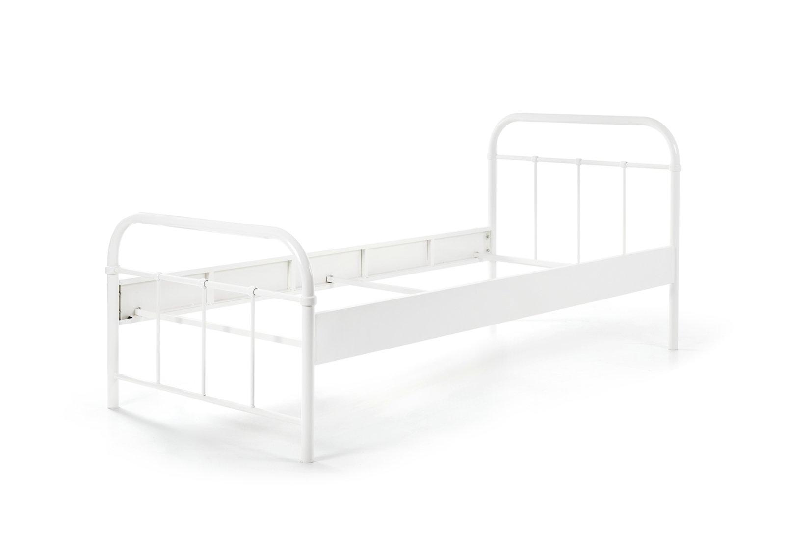 metallbett boston wei metall 90x200 cm online bei roller kaufen