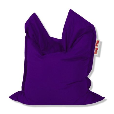 SITTING POINT - Sitzsack BRAVA BIG - aubergine