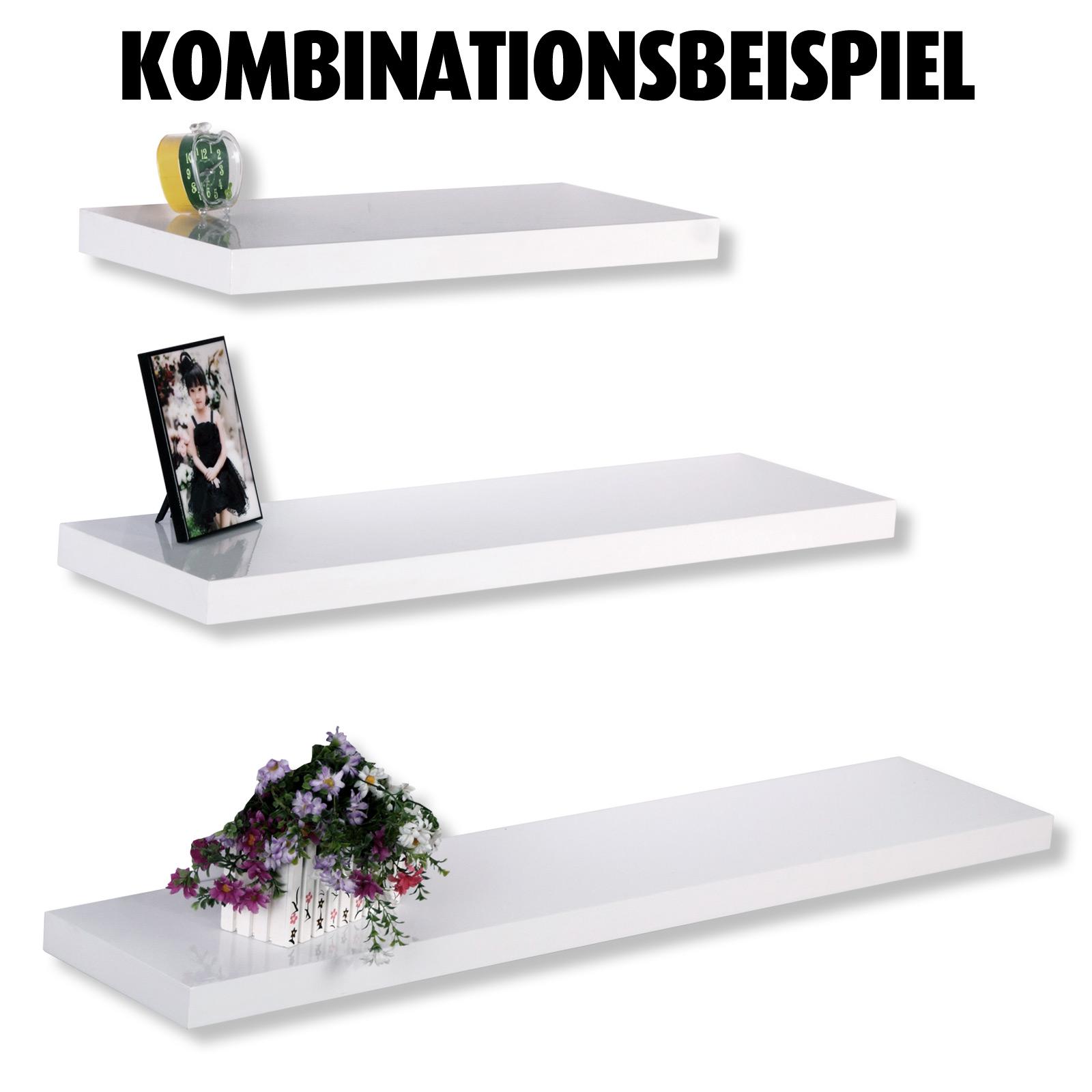 Wandregal Weiss Hochglanz 60 Cm Online Bei Roller Kaufen