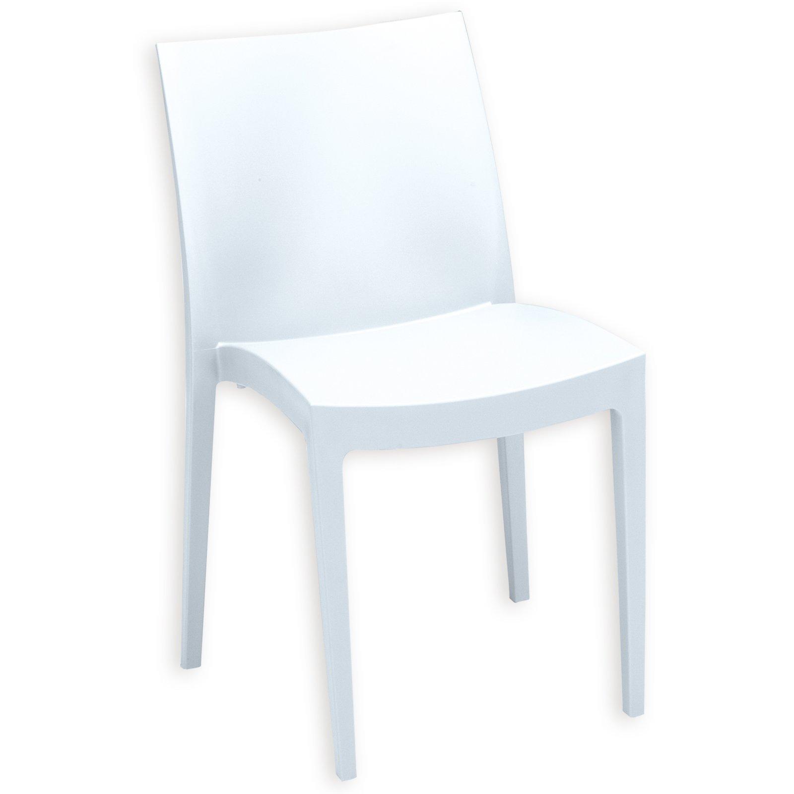 stapelstuhl venice wei kunststoff stapelst hle st hle st hle hocker m bel. Black Bedroom Furniture Sets. Home Design Ideas