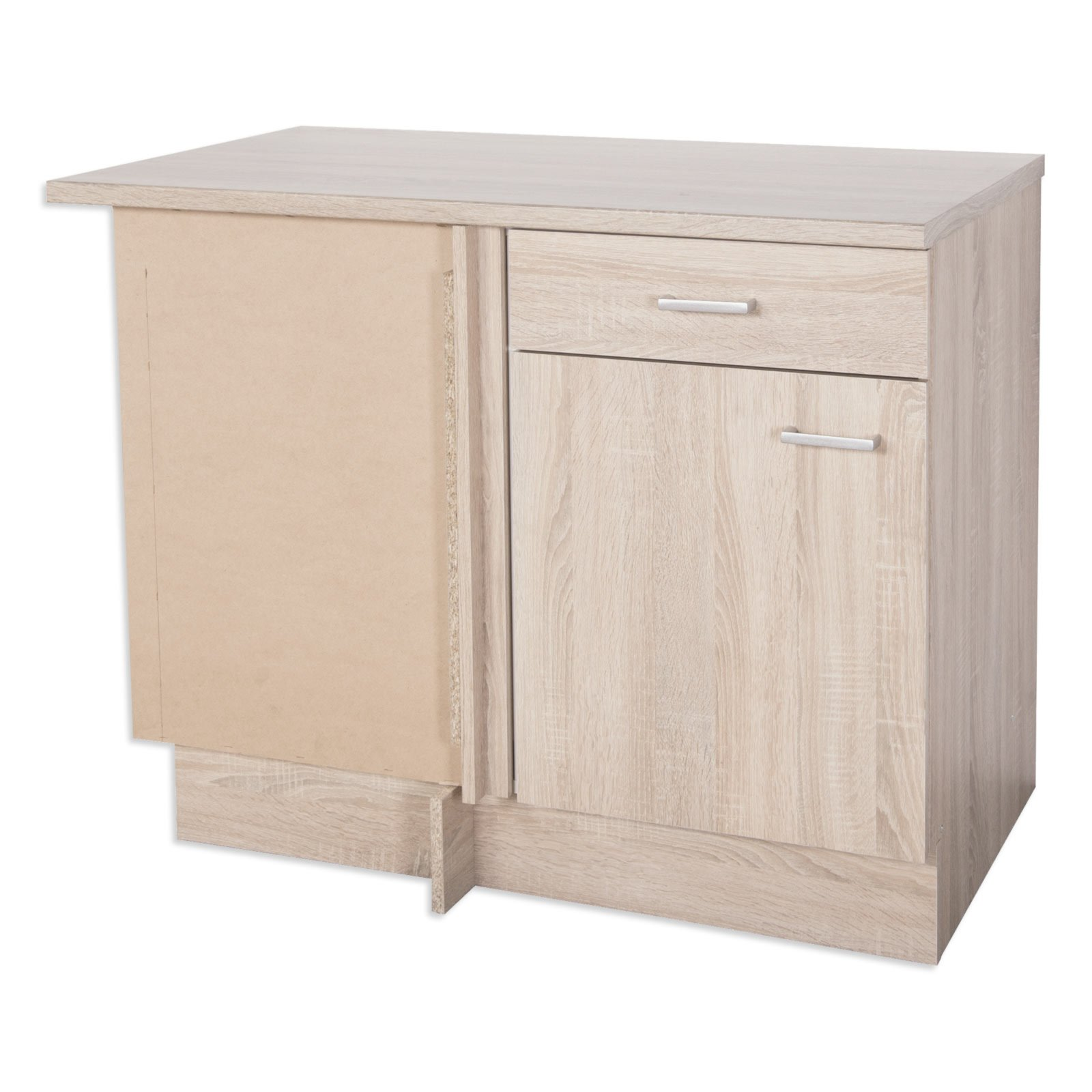 eck anrichte sinja sonoma eiche 110 cm eckschr nke einzelschr nke k chenschr nke. Black Bedroom Furniture Sets. Home Design Ideas