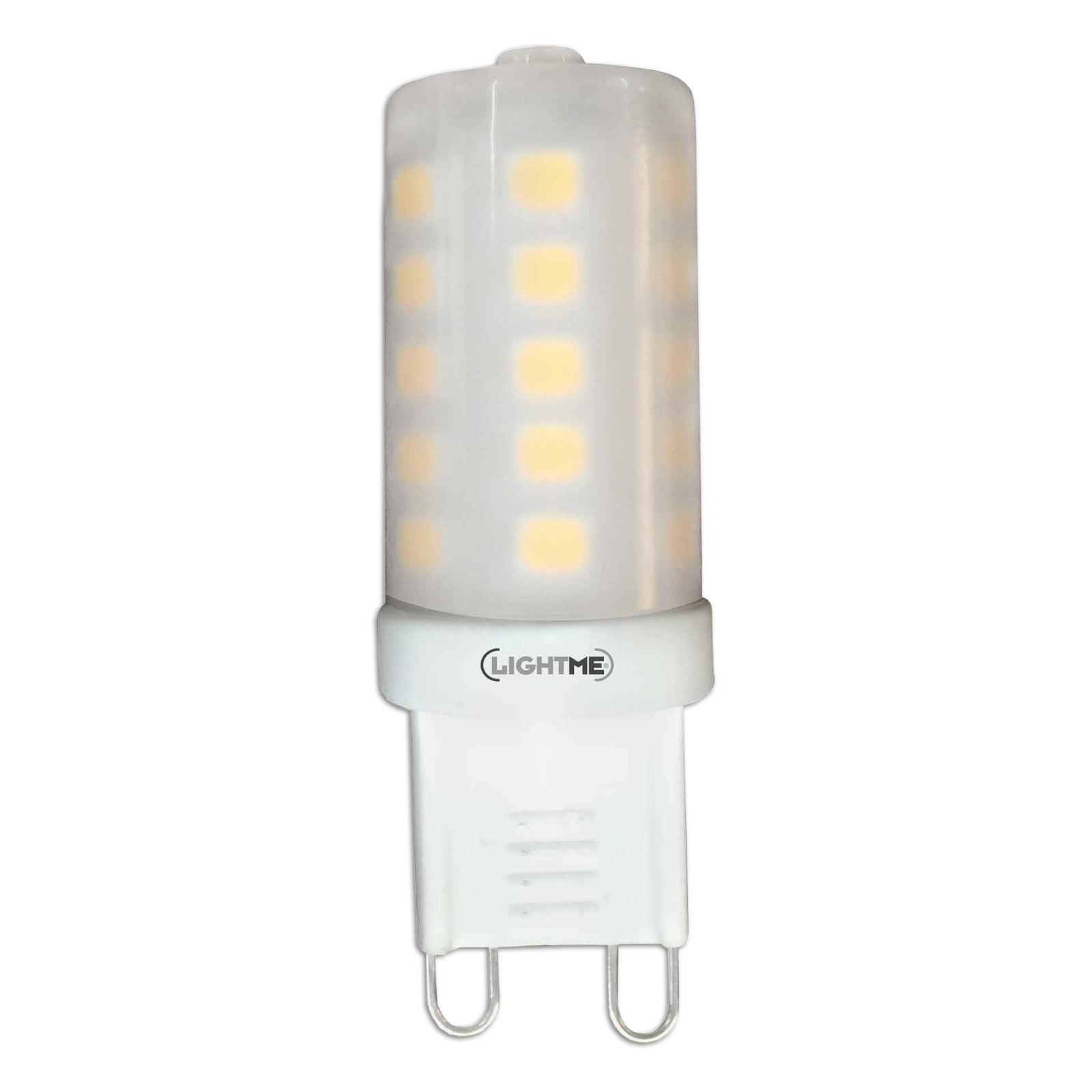 LED-Stiftsockellampe - G9 - 3 Watt - warmweiß