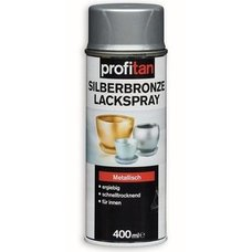 Silberbronze Lackspray profitan - metallisch - 400 ml