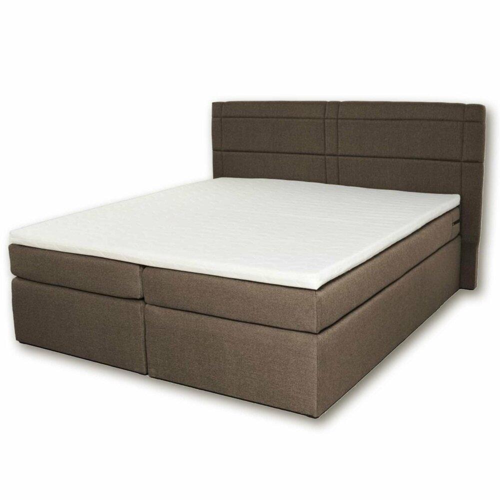 boxspringbett venezia braun h3 180x200 cm boxspringbetten betten m bel roller. Black Bedroom Furniture Sets. Home Design Ideas