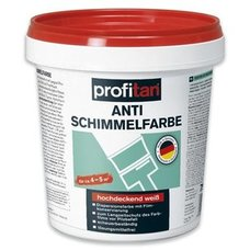profitan Anti-Schimmelfarbe - weiß - 750 ml