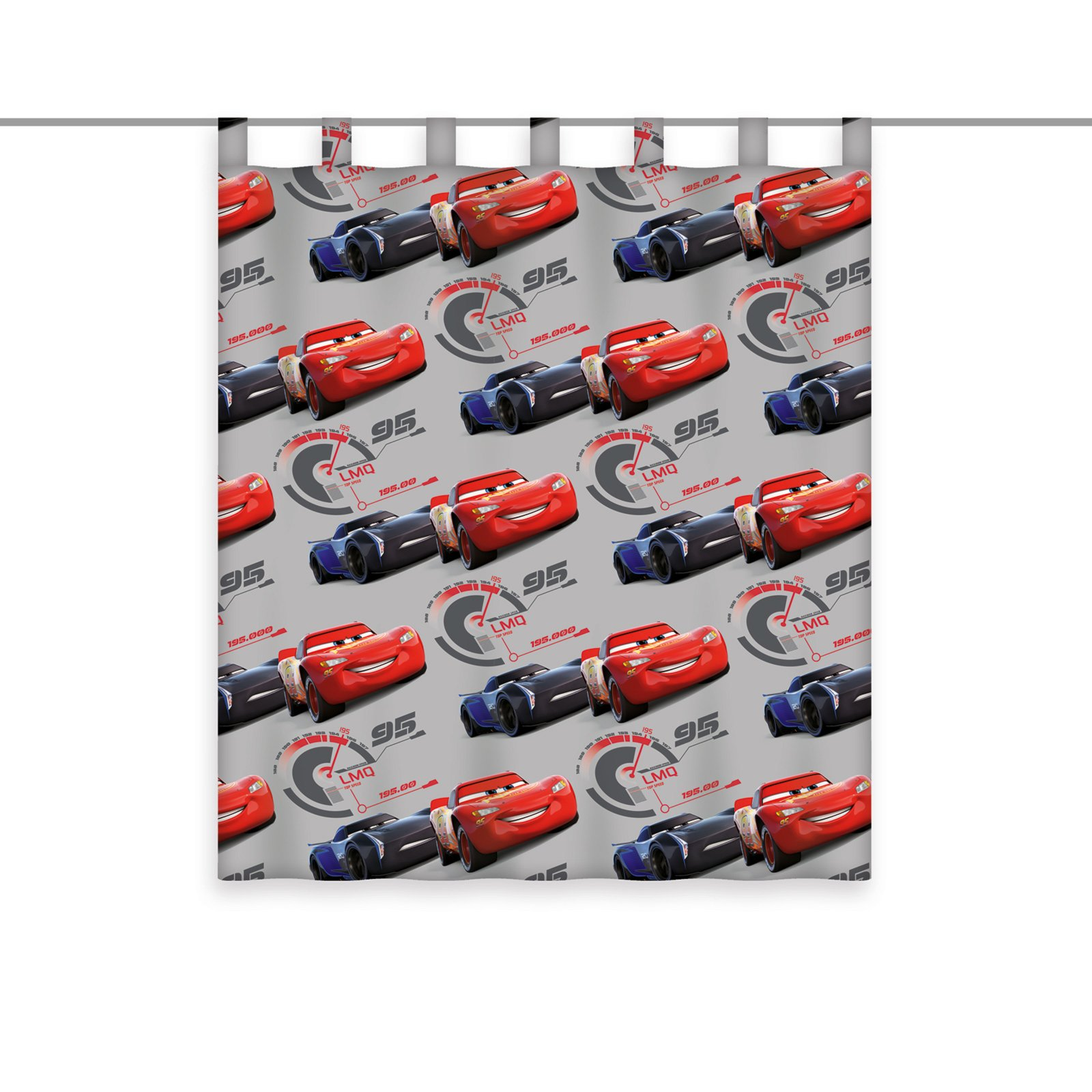 schlaufenschal cars grau rot 140x160 cm. Black Bedroom Furniture Sets. Home Design Ideas