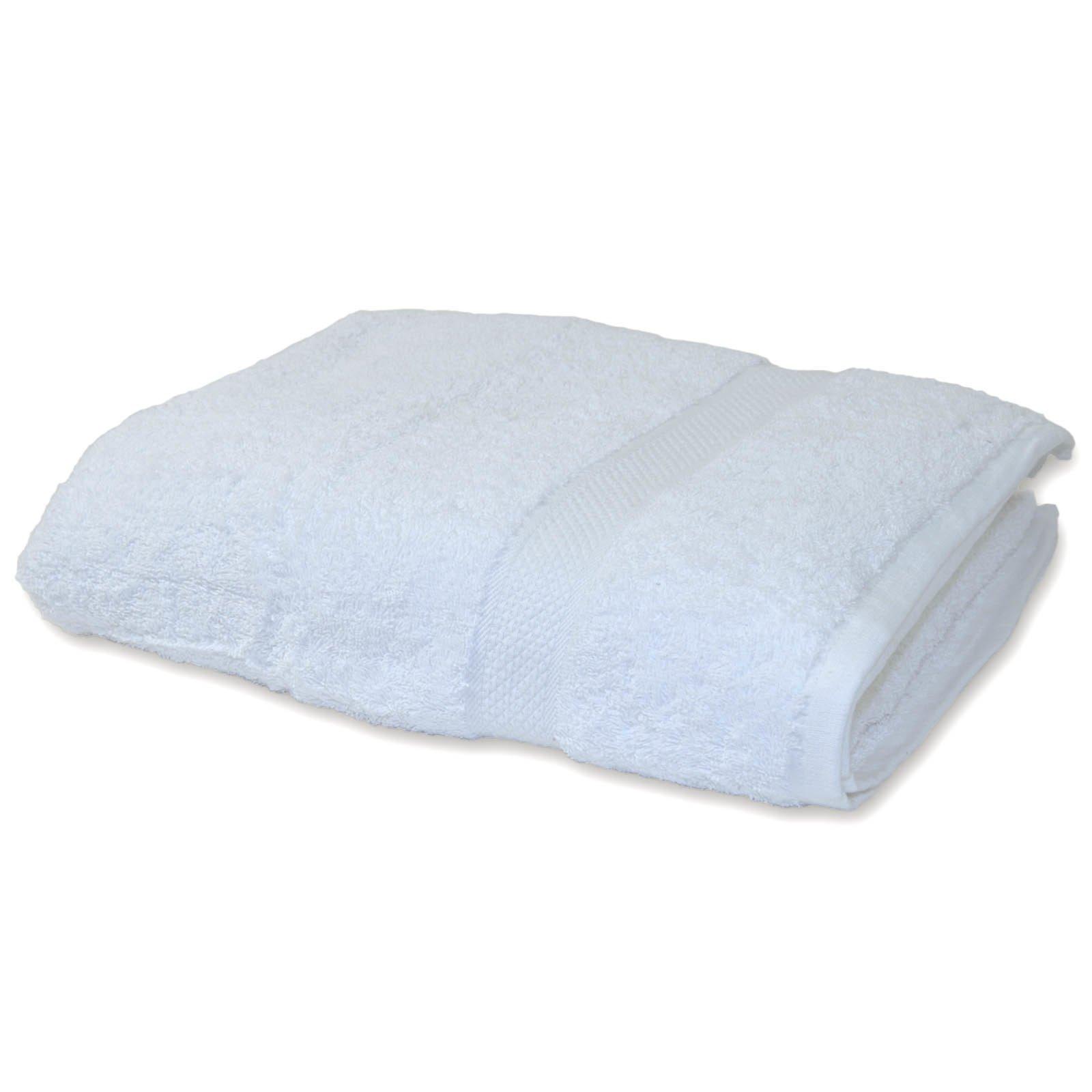 badetuch premium wei 70x140 cm baumwolle badet cher badtextilien bad accessoires. Black Bedroom Furniture Sets. Home Design Ideas