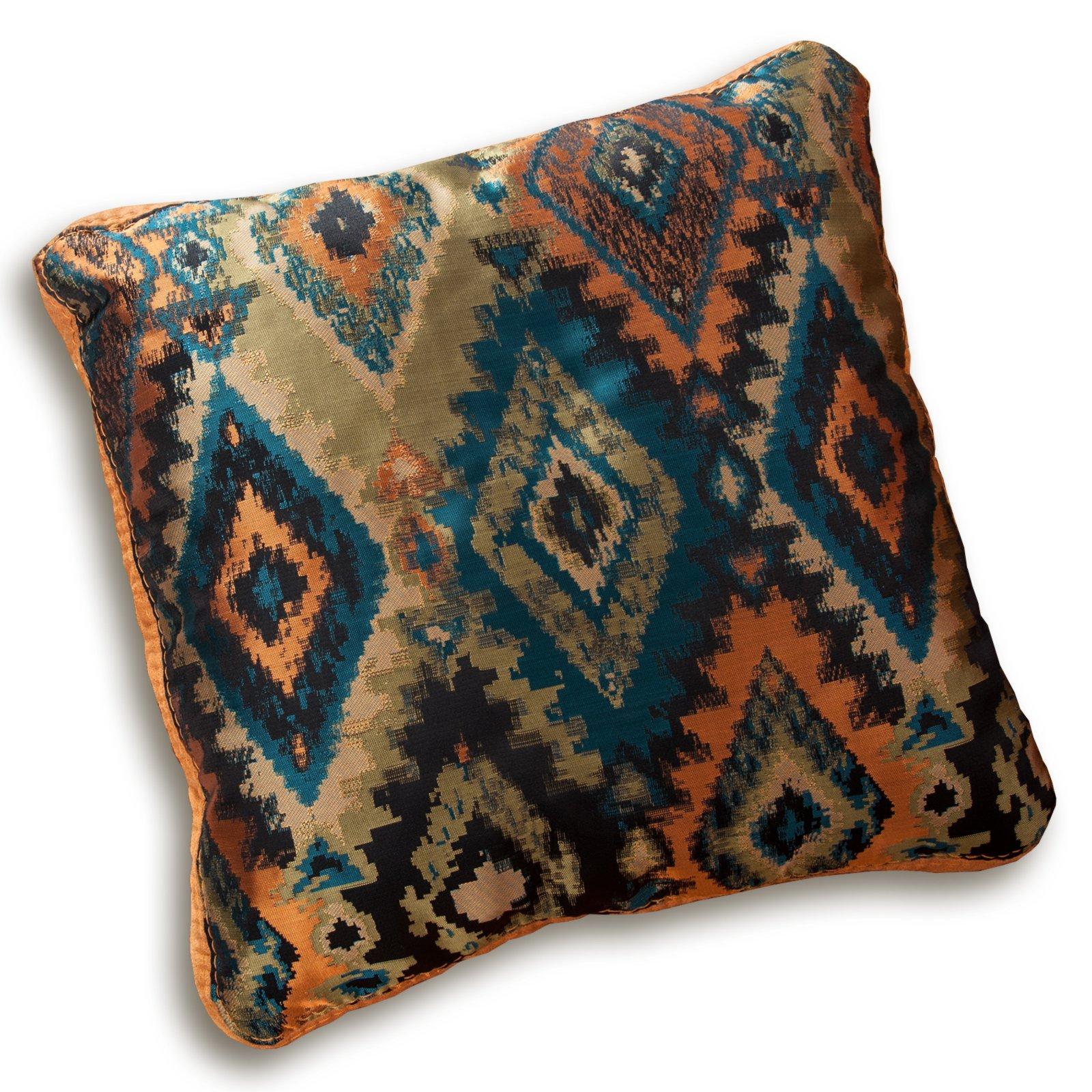 kissen blau orange 55x55 cm m belhaus roller. Black Bedroom Furniture Sets. Home Design Ideas