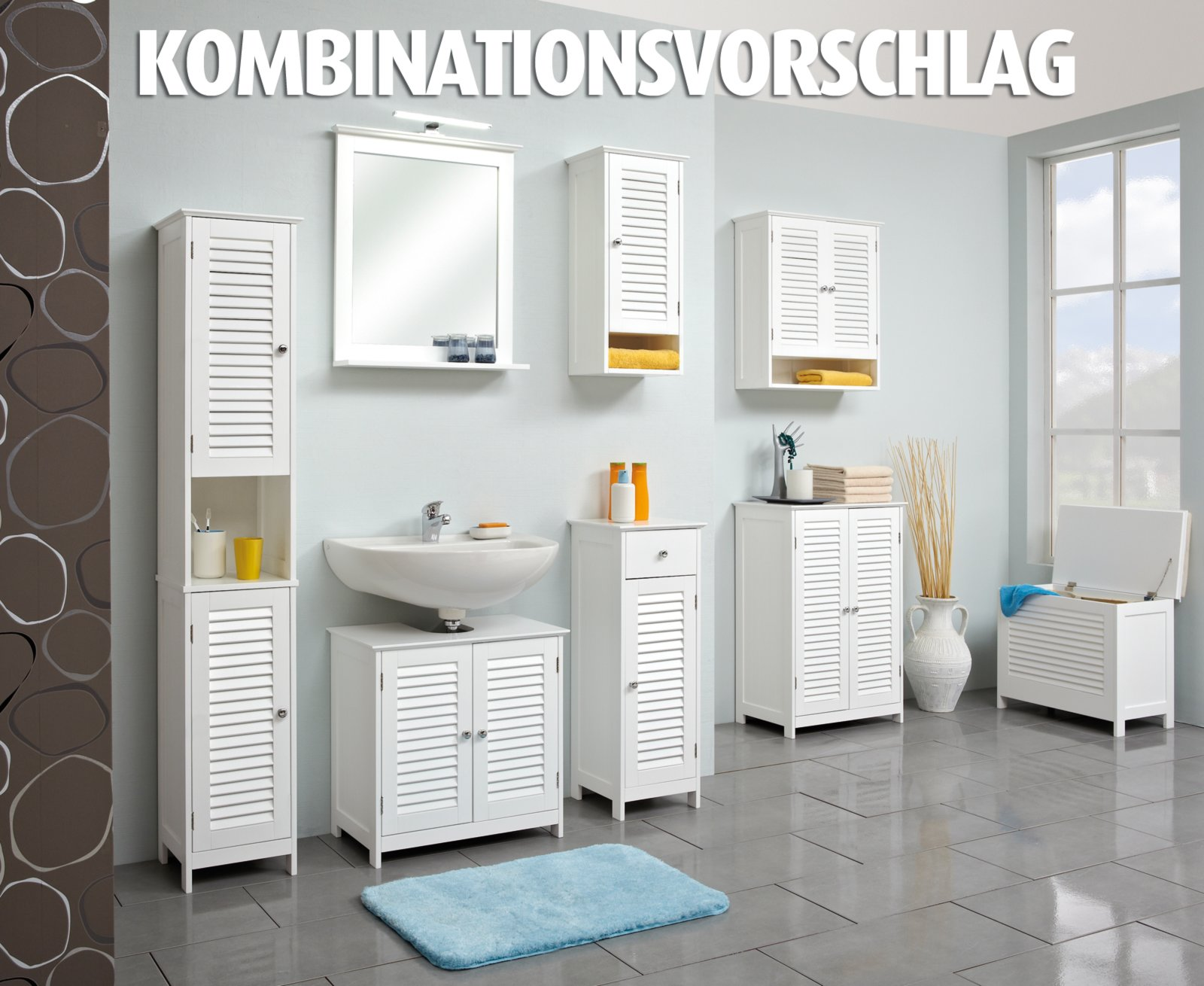Wandschrank jasper ebay for Badezimmer jasper